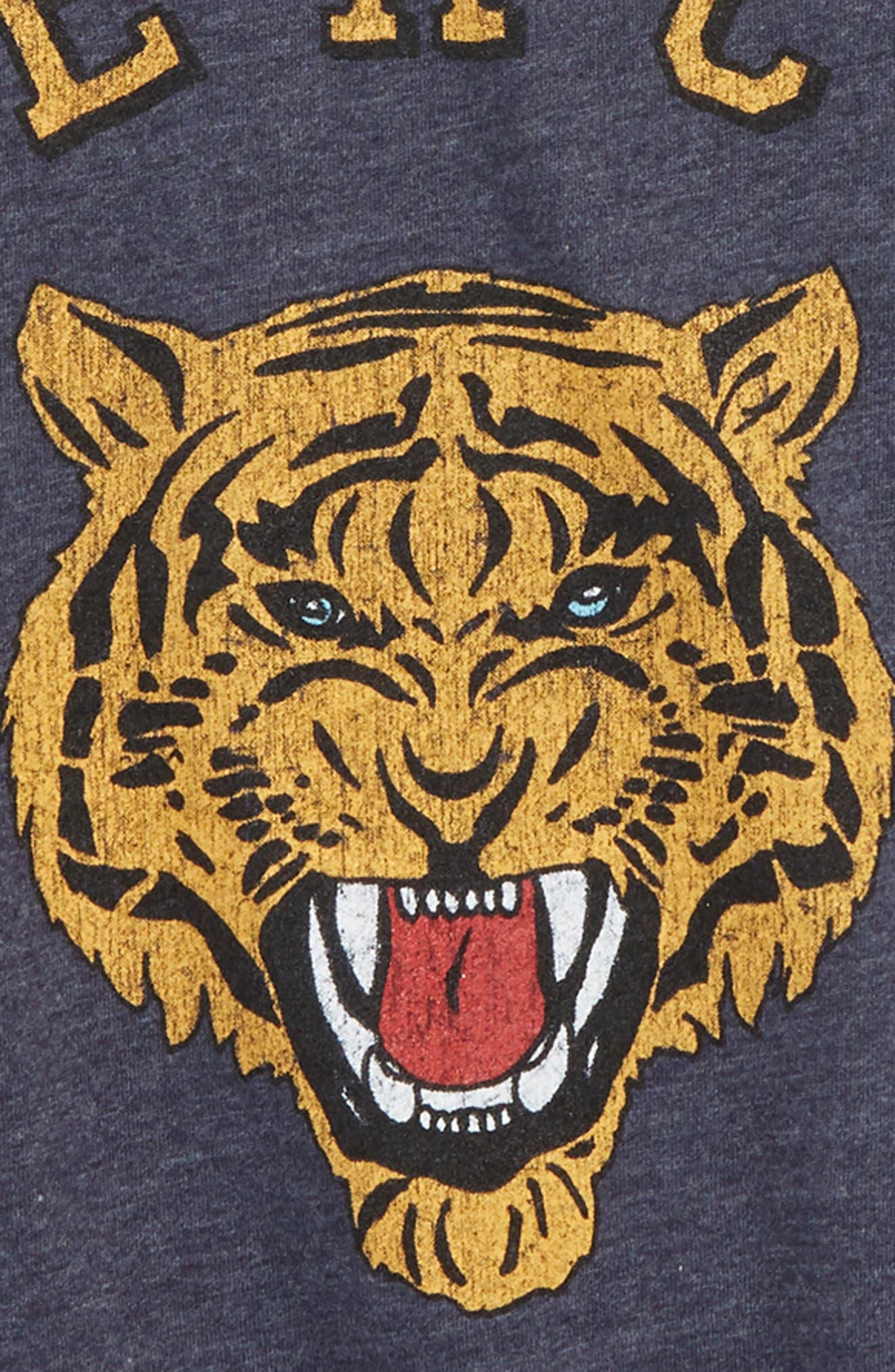 Peace Tiger T-Shirt,                             Alternate thumbnail 2, color,                             Avalon