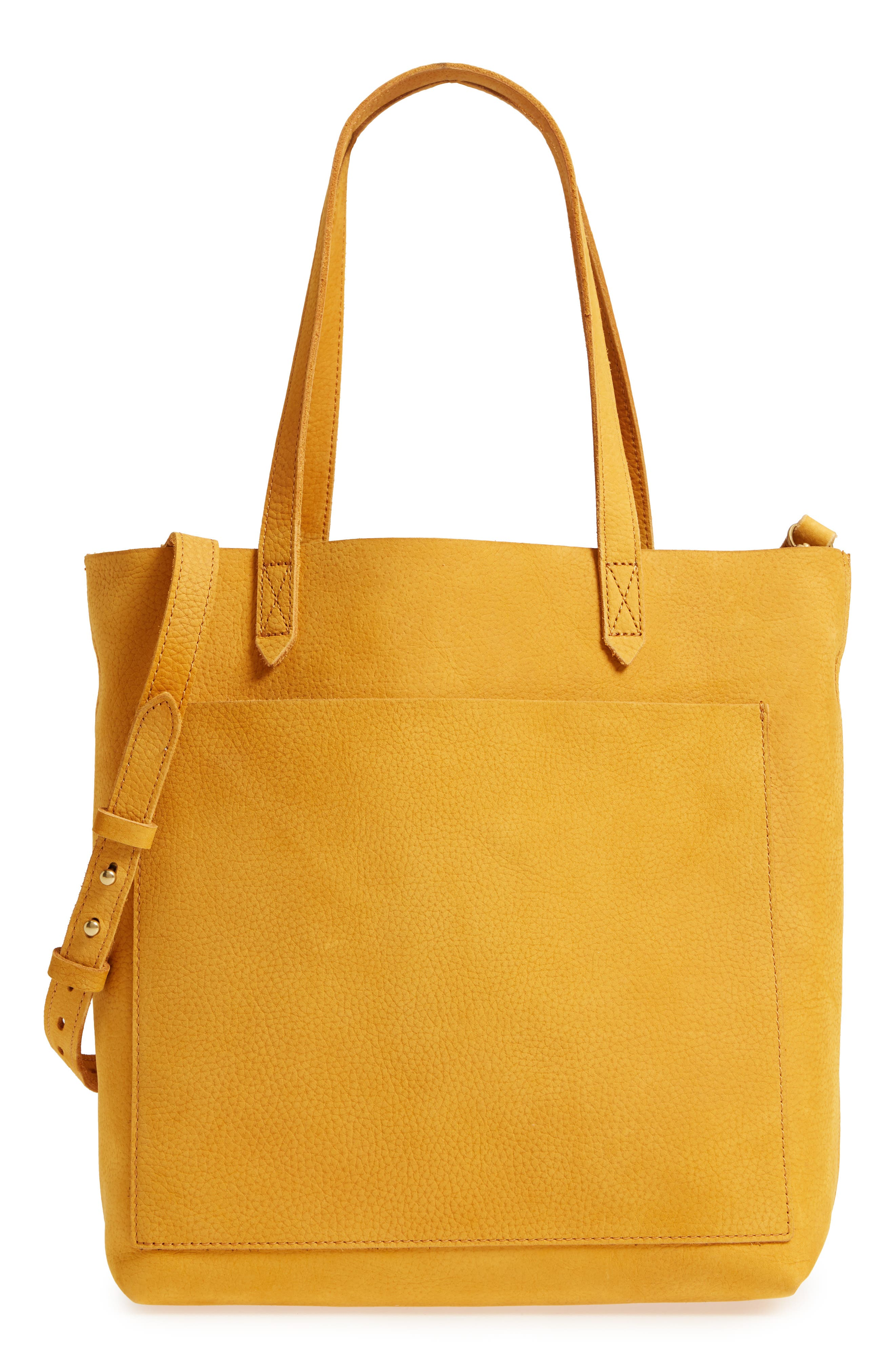 Medium Leather Transport Tote,                         Main,                         color, Celestial Gold
