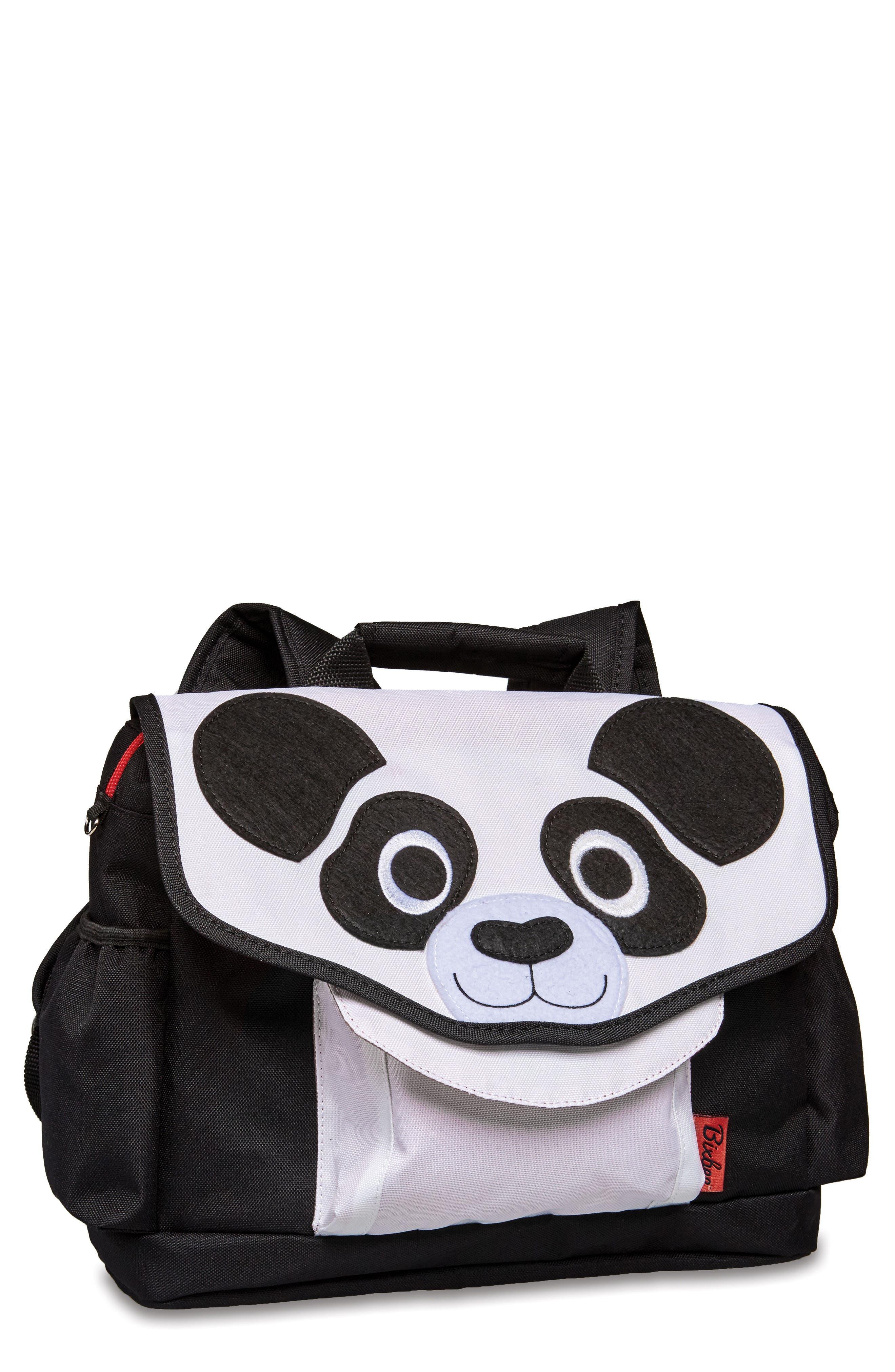 Bixbee Animal Pack - Panda Water Resistant Backpack (Kids)