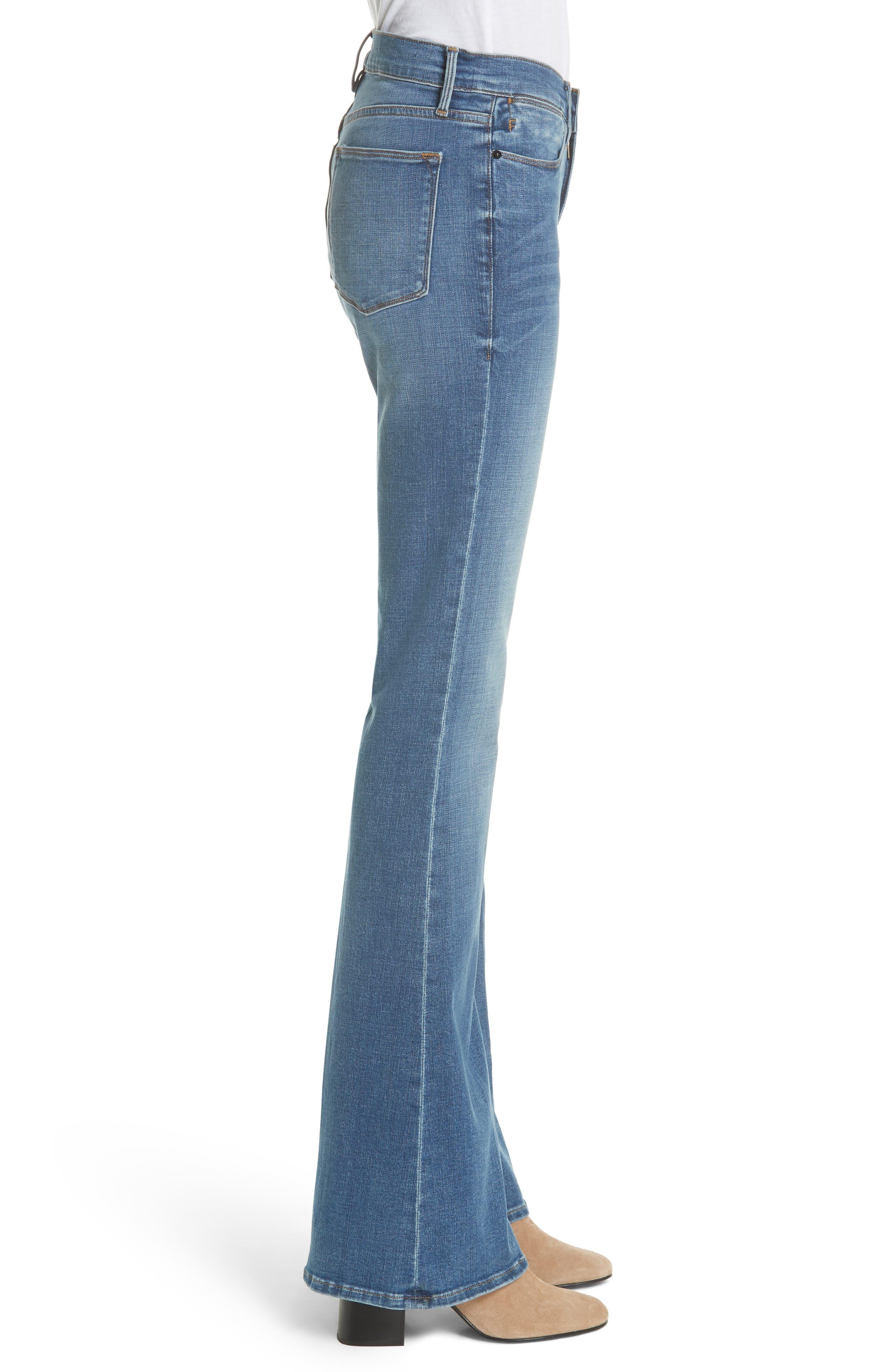 Alternate Image 3  - FRAME Le High Flare Jeans (Columbus)