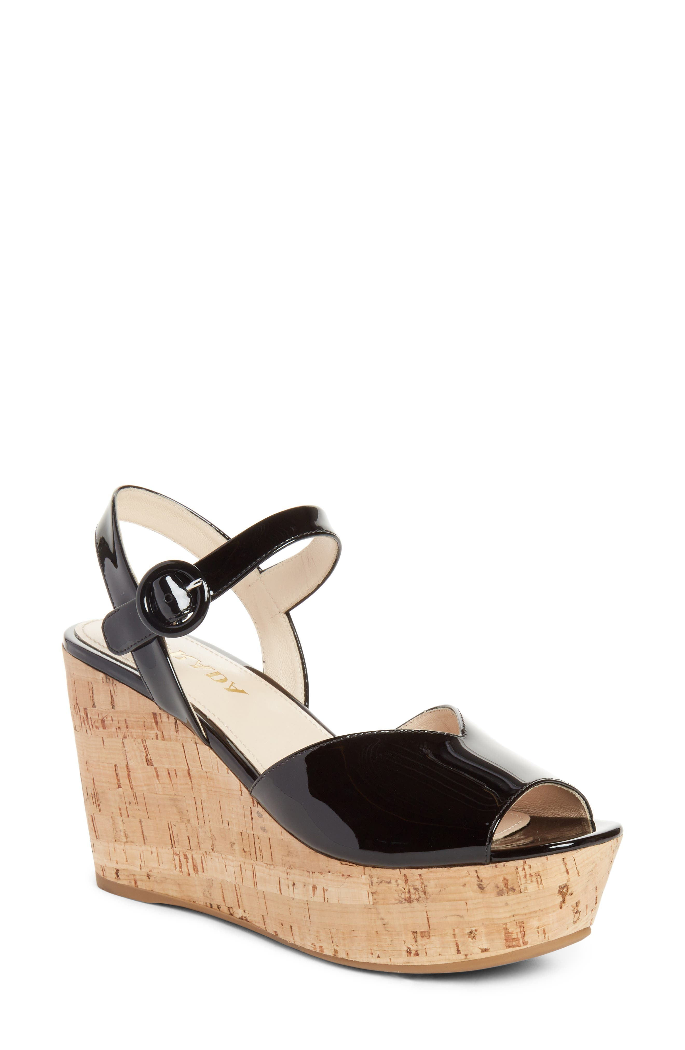 Prada Wedge Platform Sandal (Women)