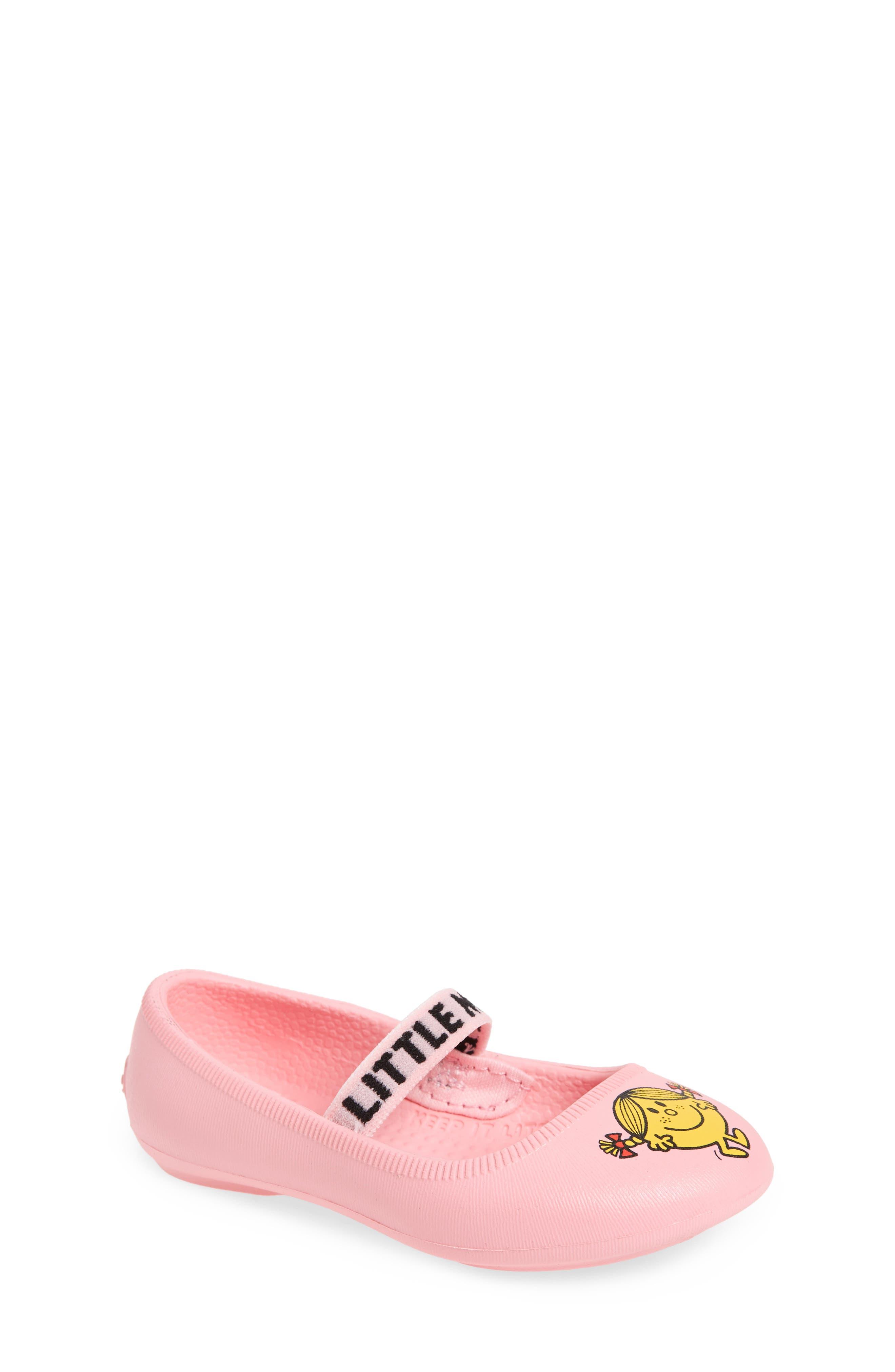 Margot Mary Jane Flat,                             Main thumbnail 1, color,                             Pink/ Little Miss Sunshine