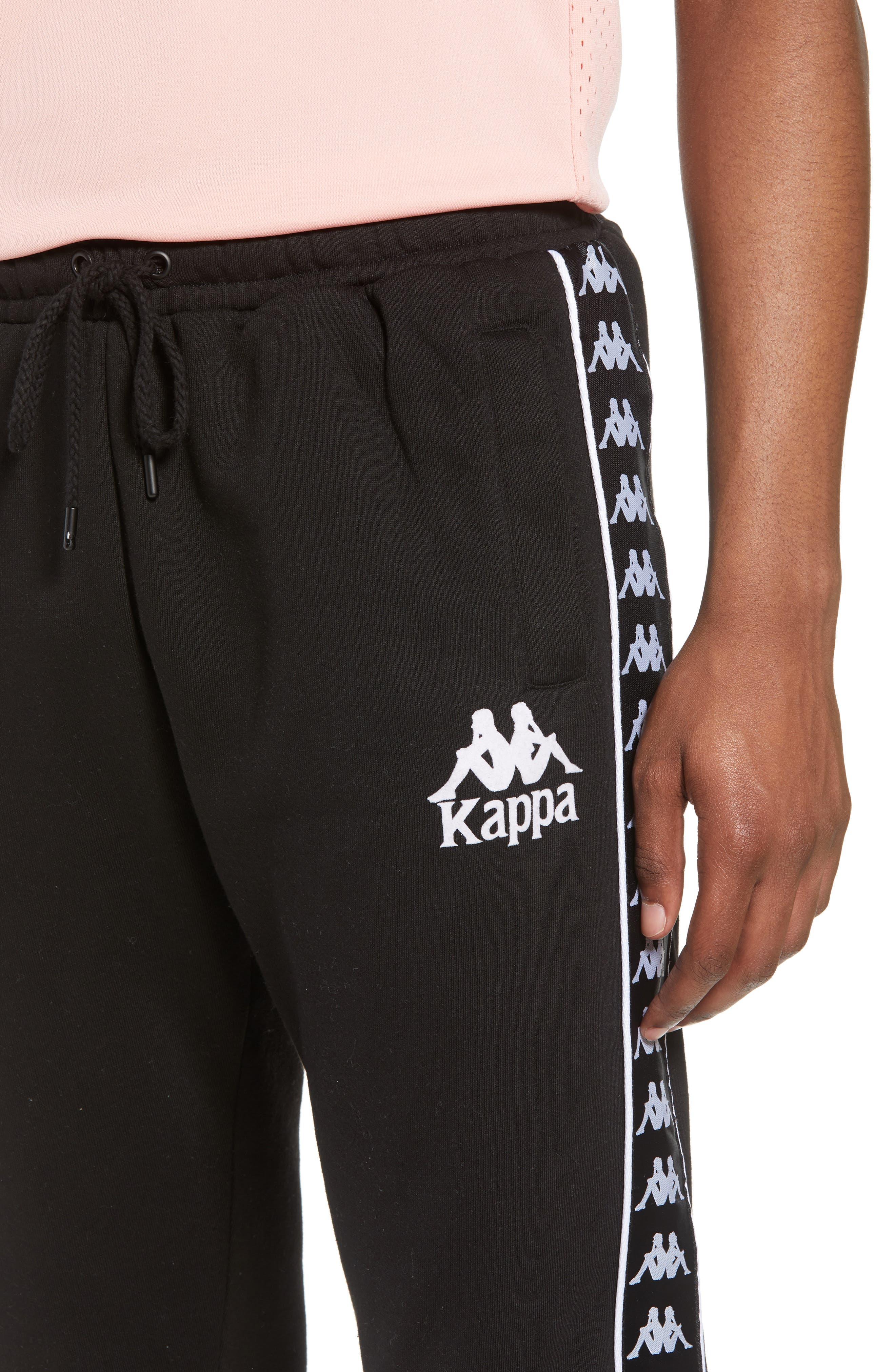 Banda Fleece Pants,                             Alternate thumbnail 4, color,                             Black