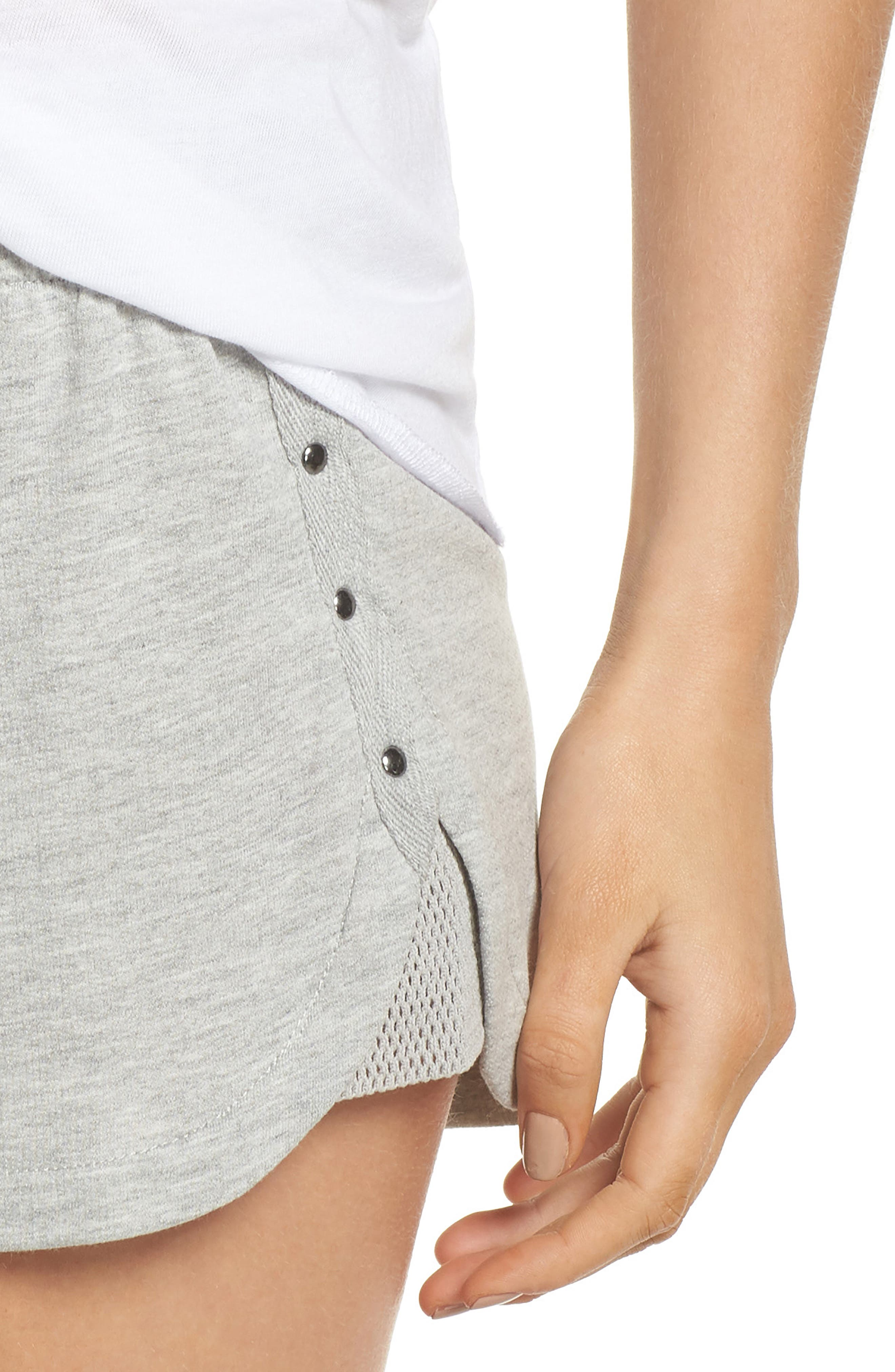 Pajama Shorts,                             Alternate thumbnail 5, color,                             H Grey