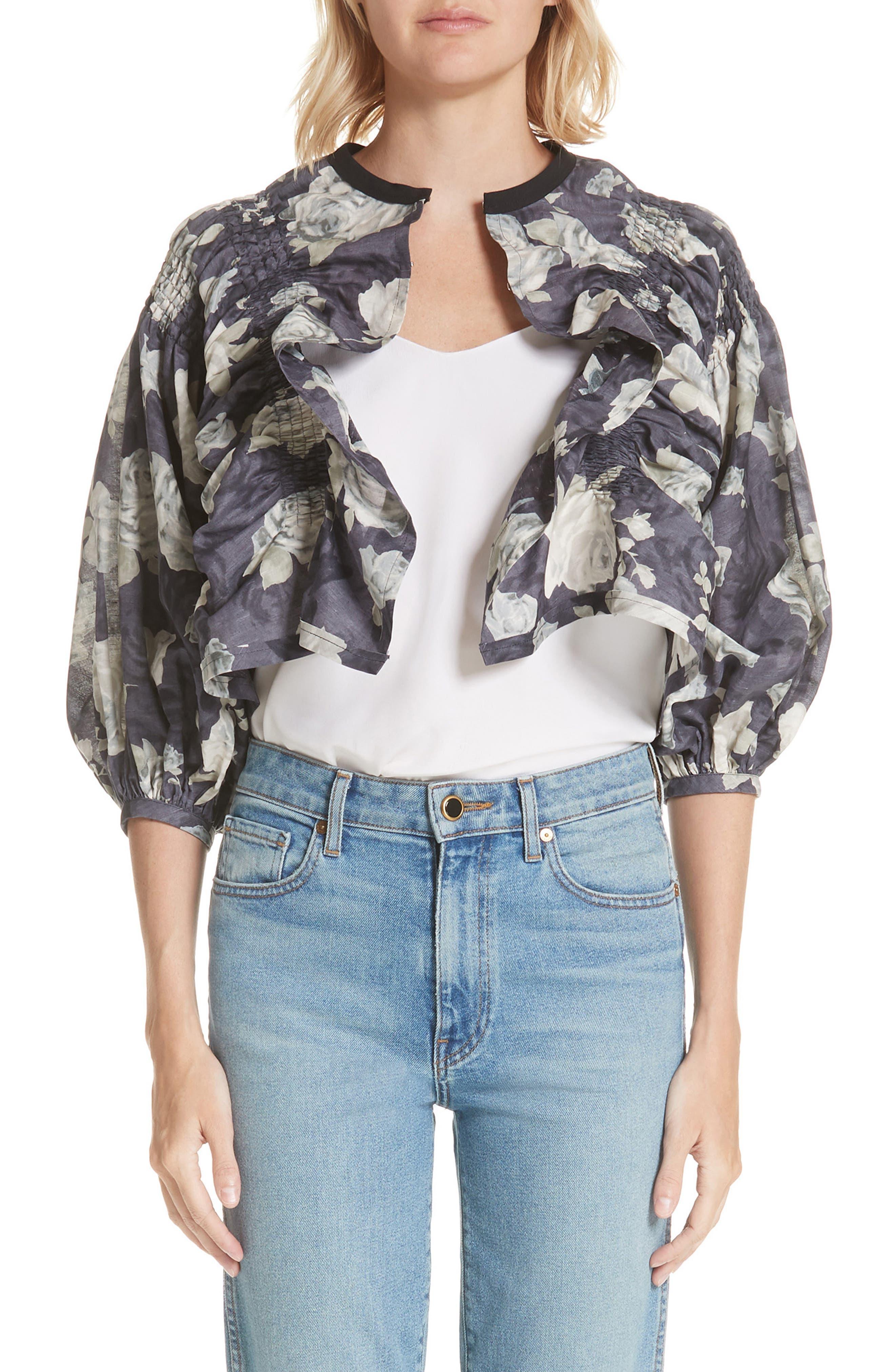 Tricot Comme des Garçons Rose Print Jacket