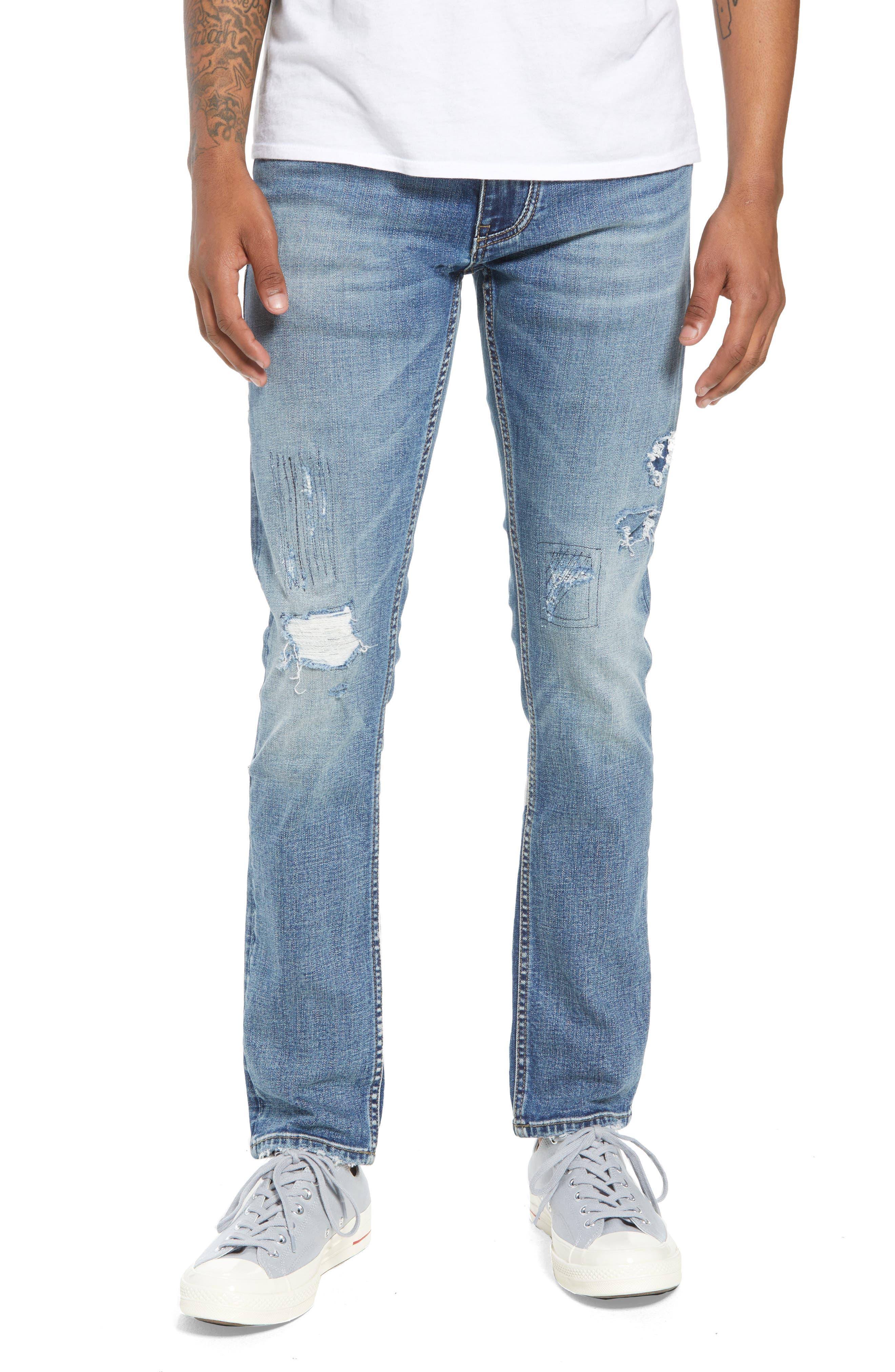 BLANKNYC Wooster Slim Fit Jeans (Lion Night)