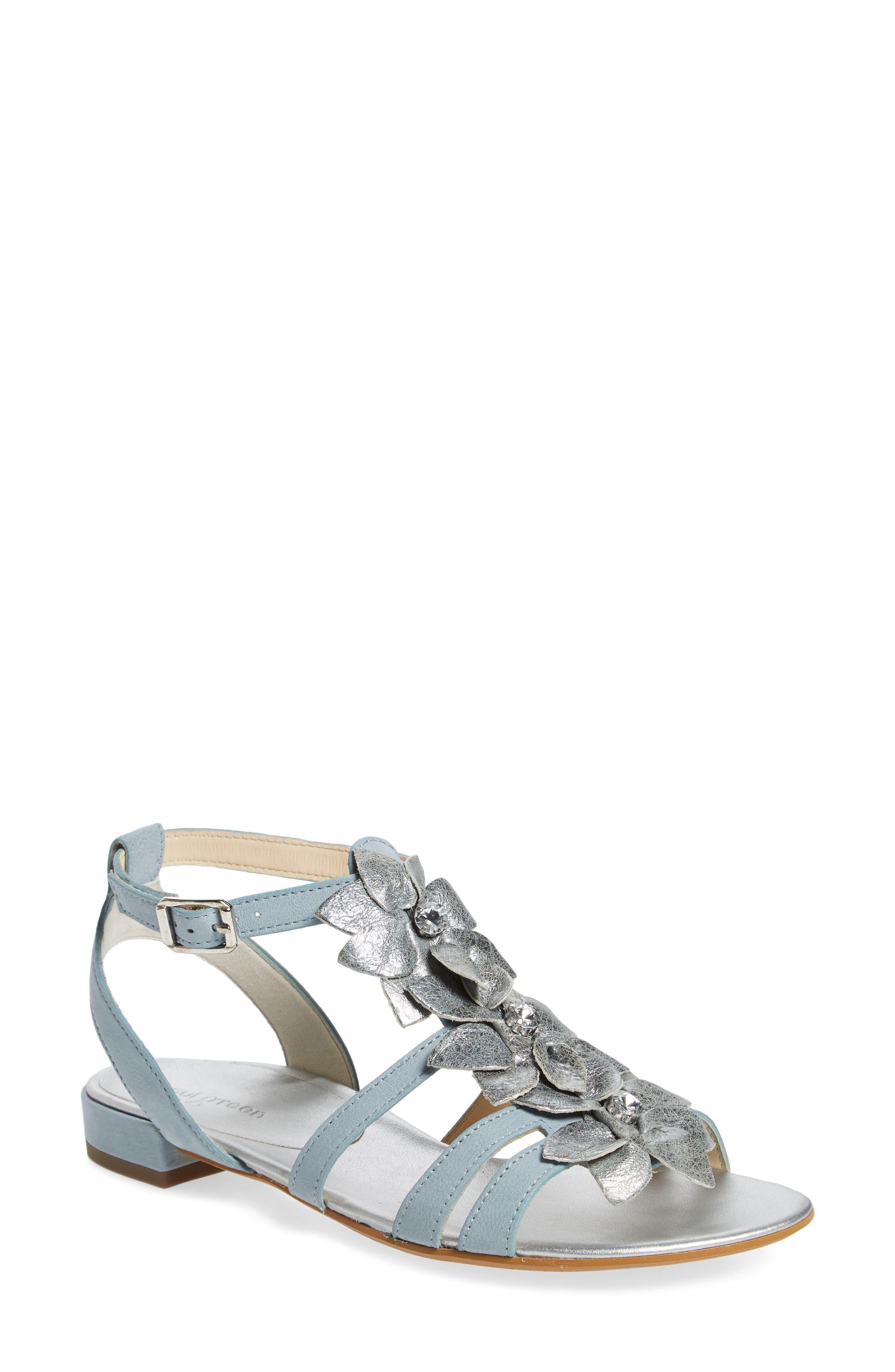 Paul Green Norien Embellished Flower Sandal (Women)