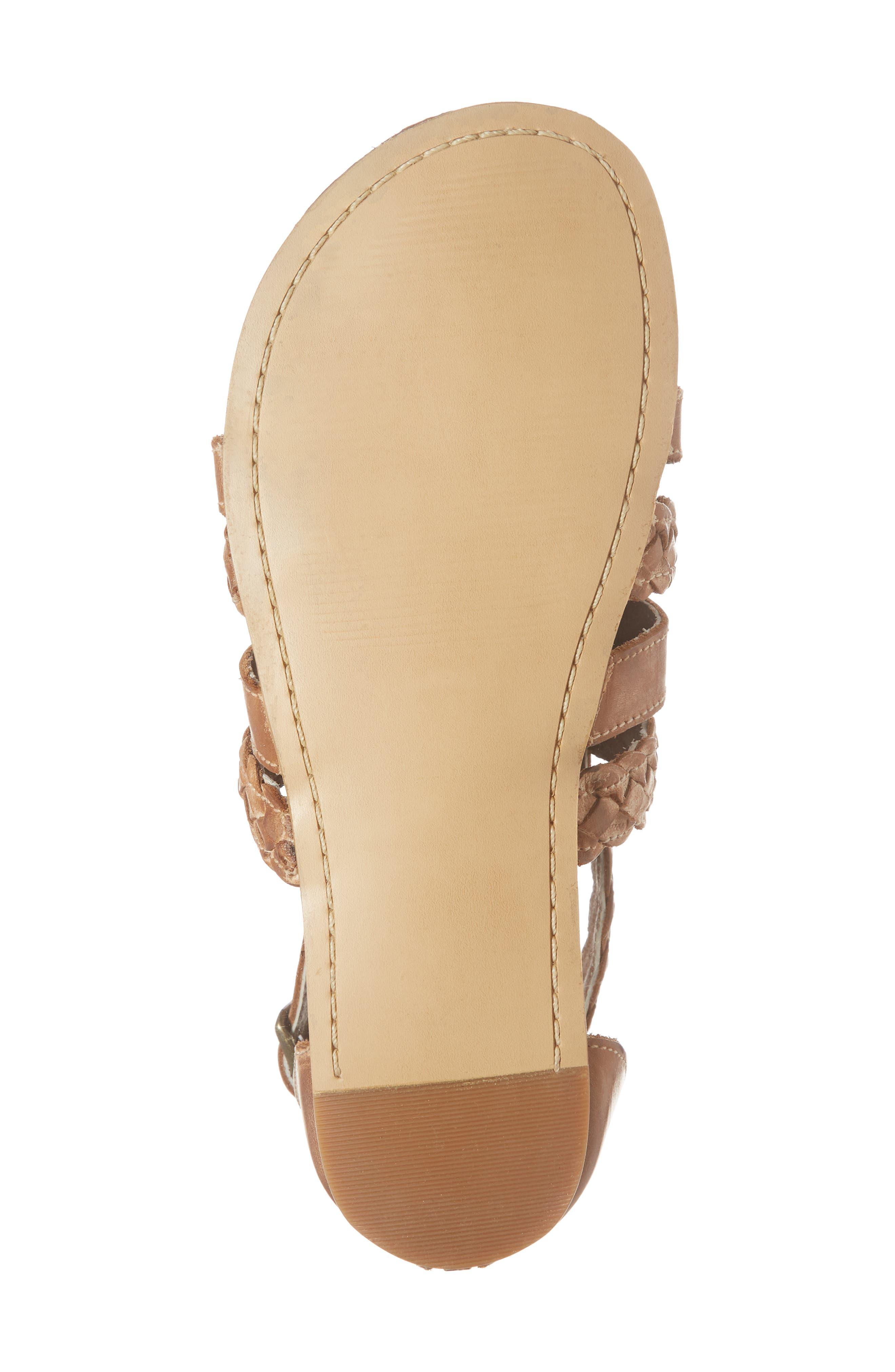 Kaliope Sandal,                             Alternate thumbnail 6, color,                             Victoria Cognac/ White