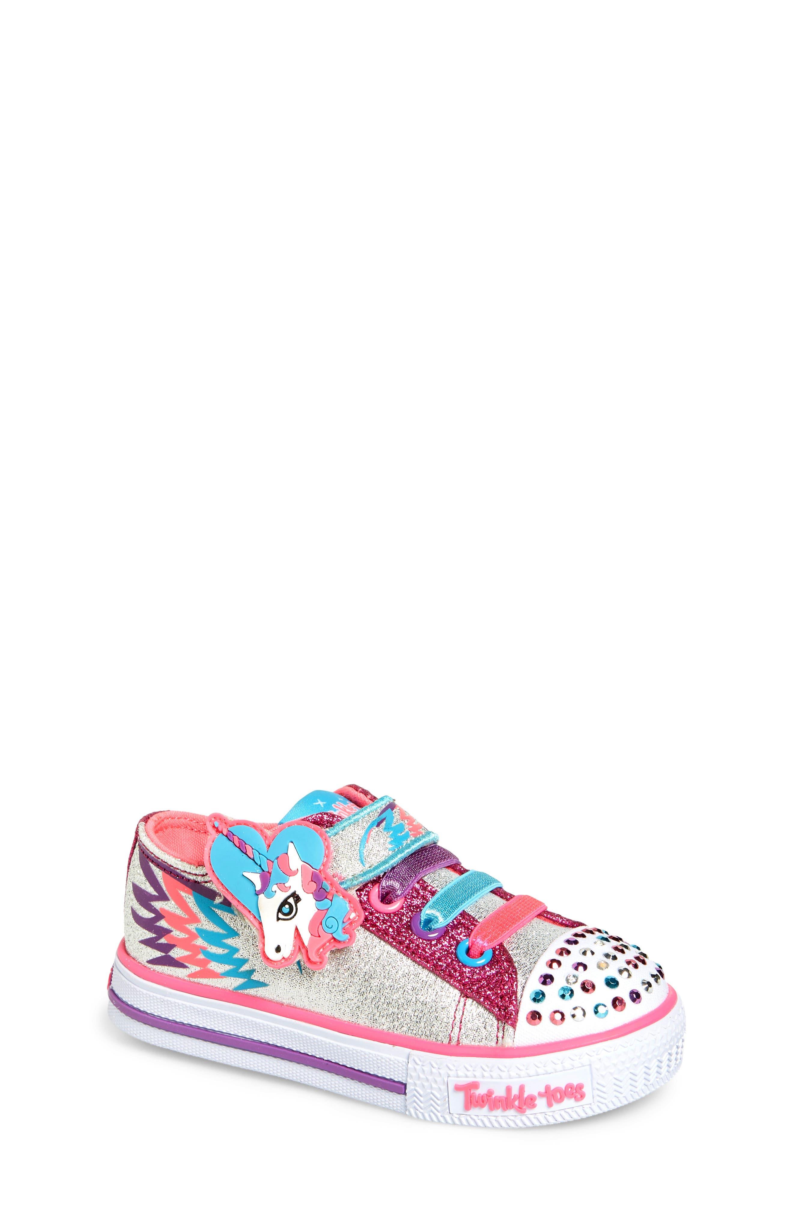 SKECHERS Shuffles - Party Pets Sneaker (Walker & Toddler)