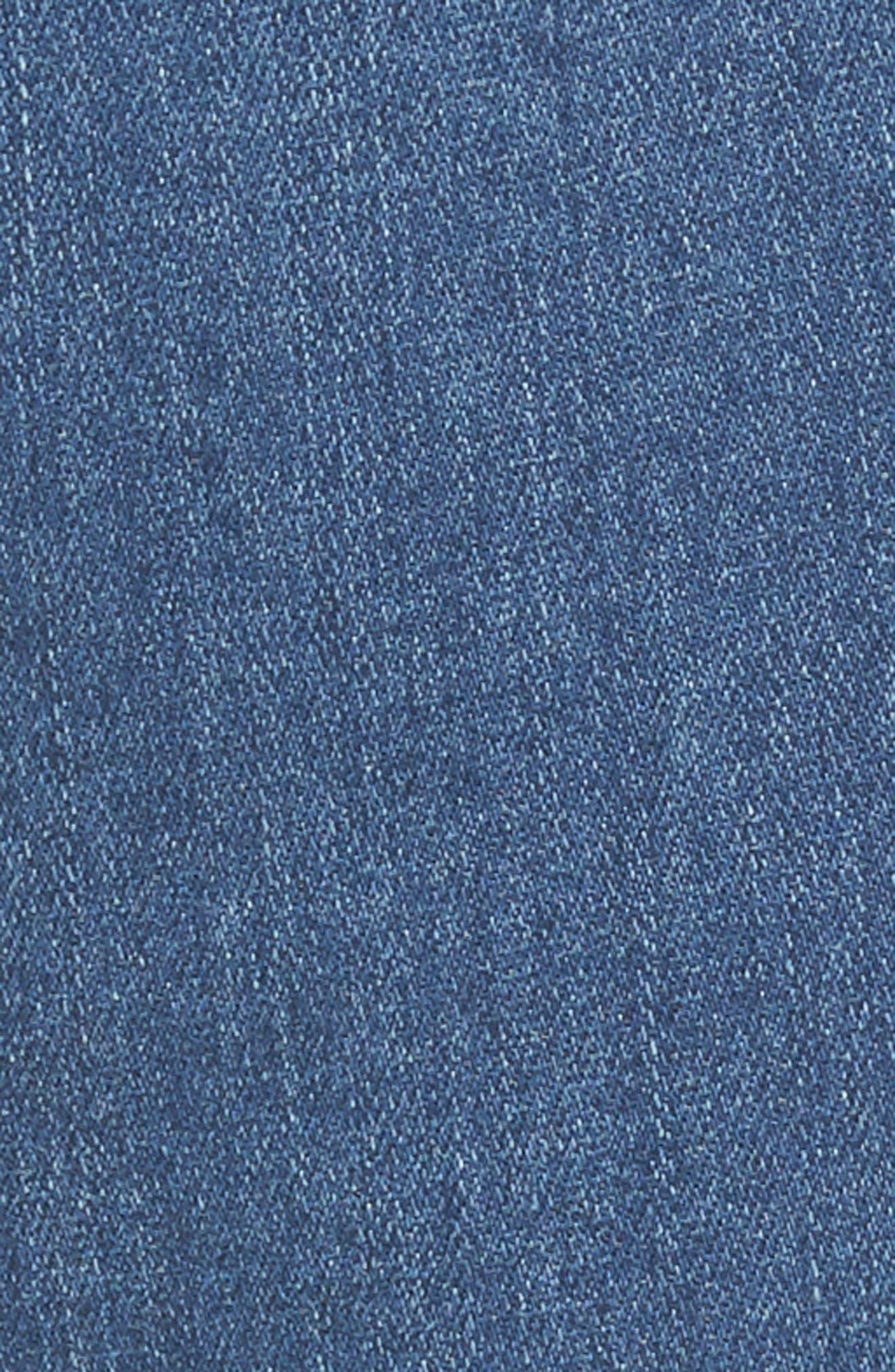 Transcend - Federal Slim Straight Leg Jeans,                             Alternate thumbnail 5, color,                             Caine