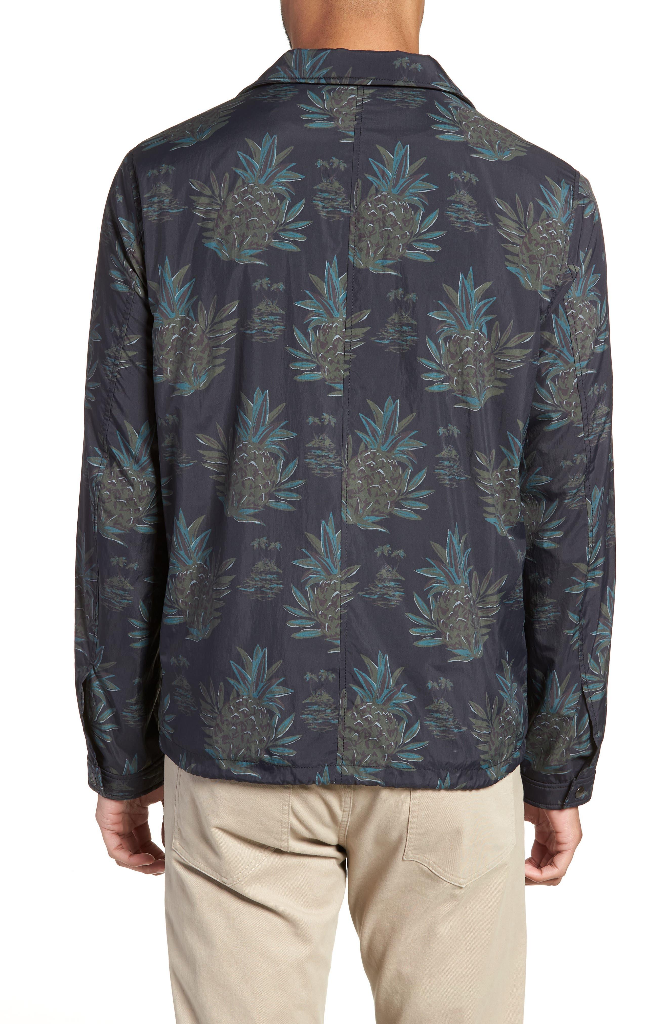 Tropical Regular Fit Coach's Jacket,                             Alternate thumbnail 2, color,                             New Coastal