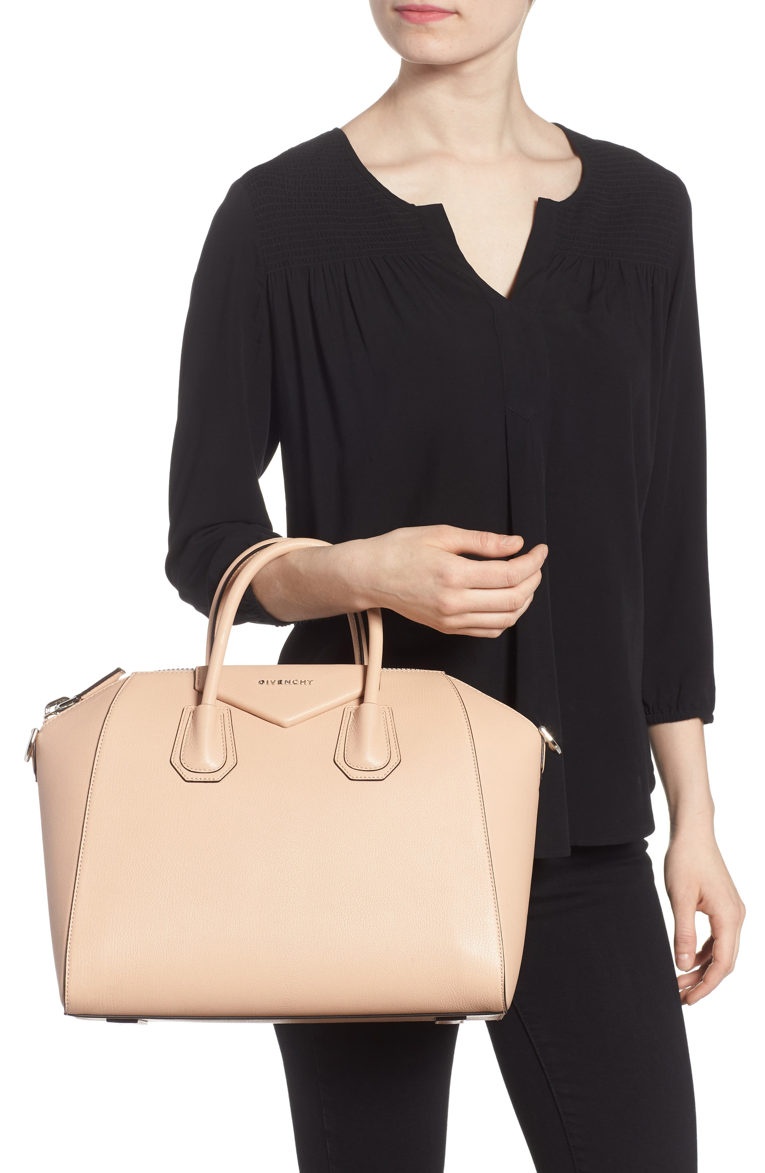 Alternate Image 2  - Givenchy 'Medium Antigona' Sugar Leather Satchel