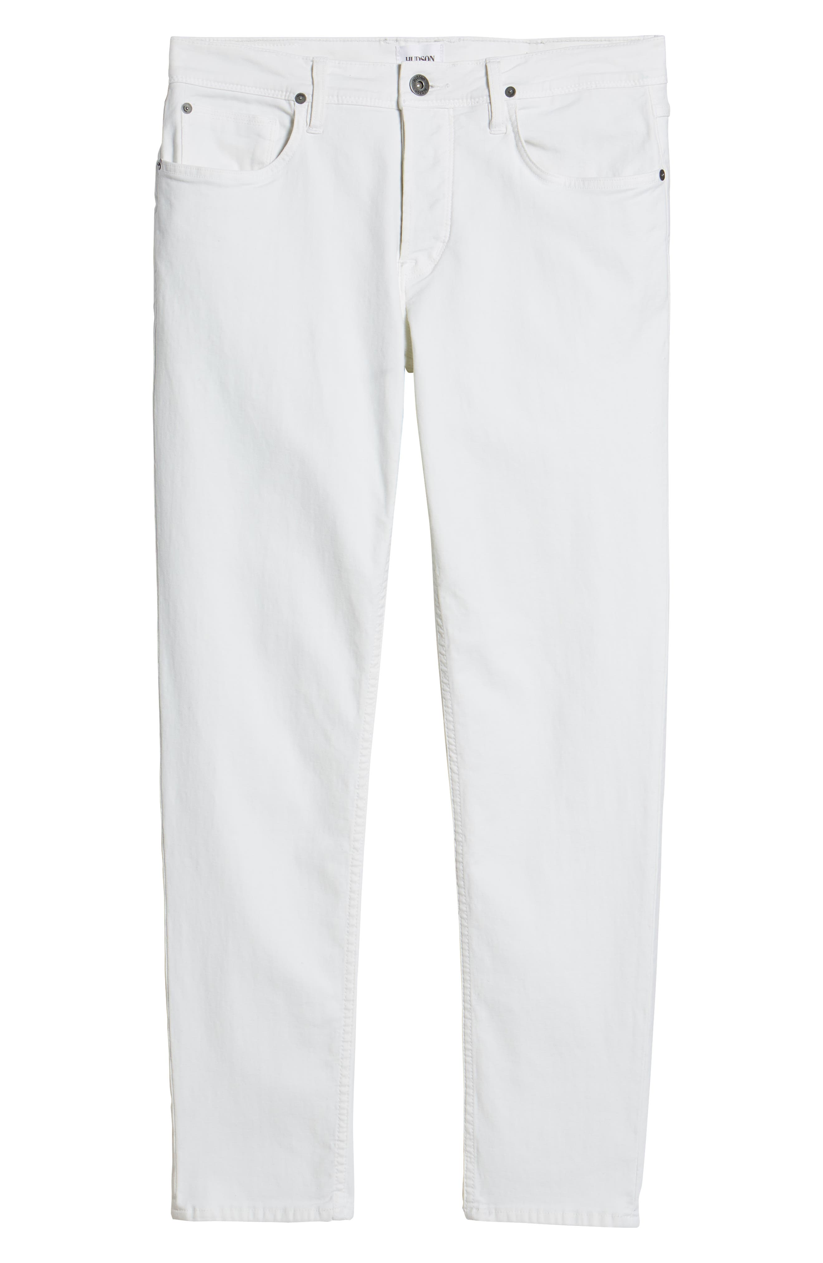 Sartor Slouchy Skinny Fit Jeans,                             Alternate thumbnail 6, color,                             Off White