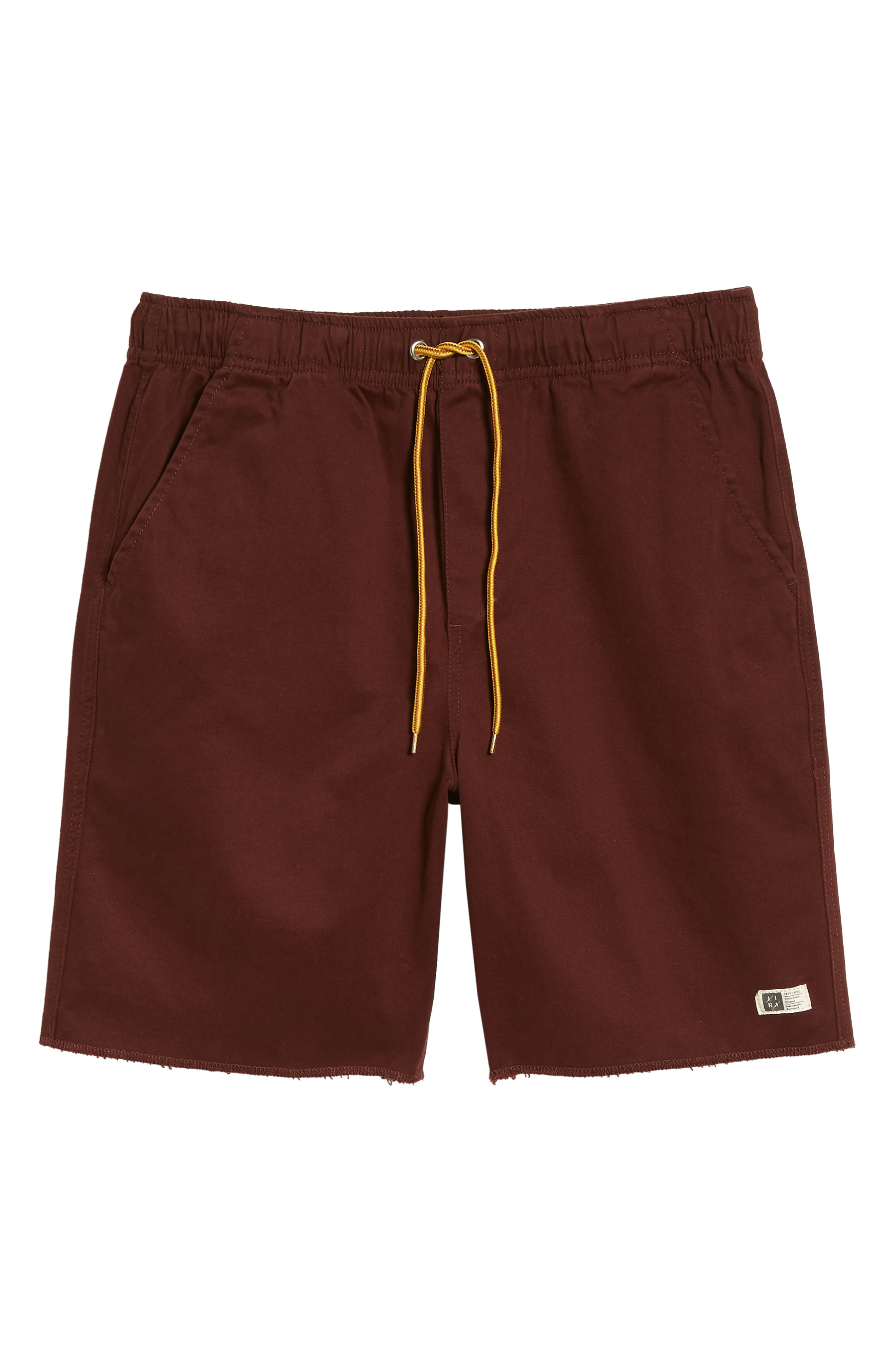 Weekday Shorts,                             Alternate thumbnail 6, color,                             Burgundy