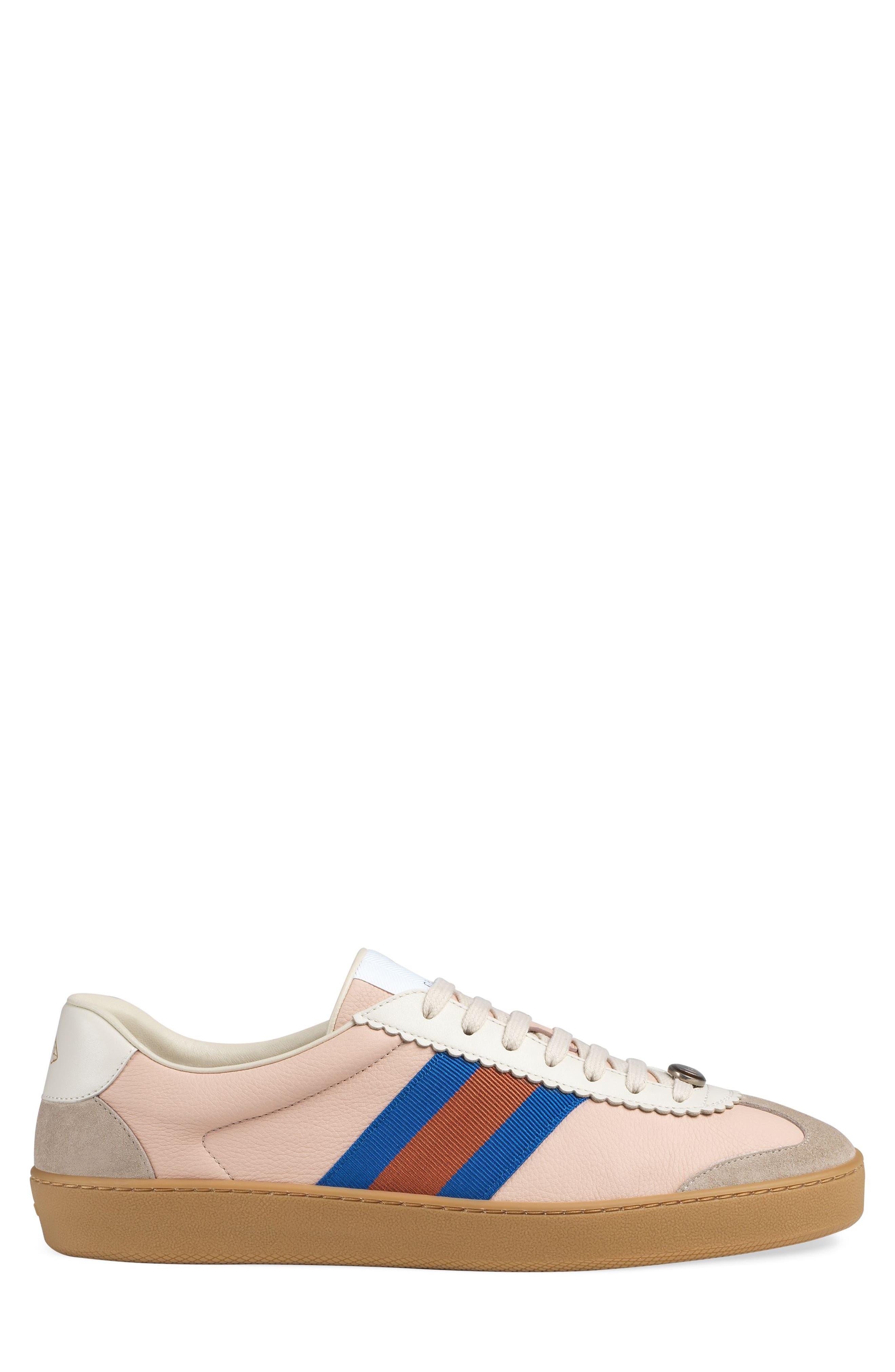 JBP Retro Gum Sole Sneaker,                             Alternate thumbnail 2, color,                             Oatmeal/ White
