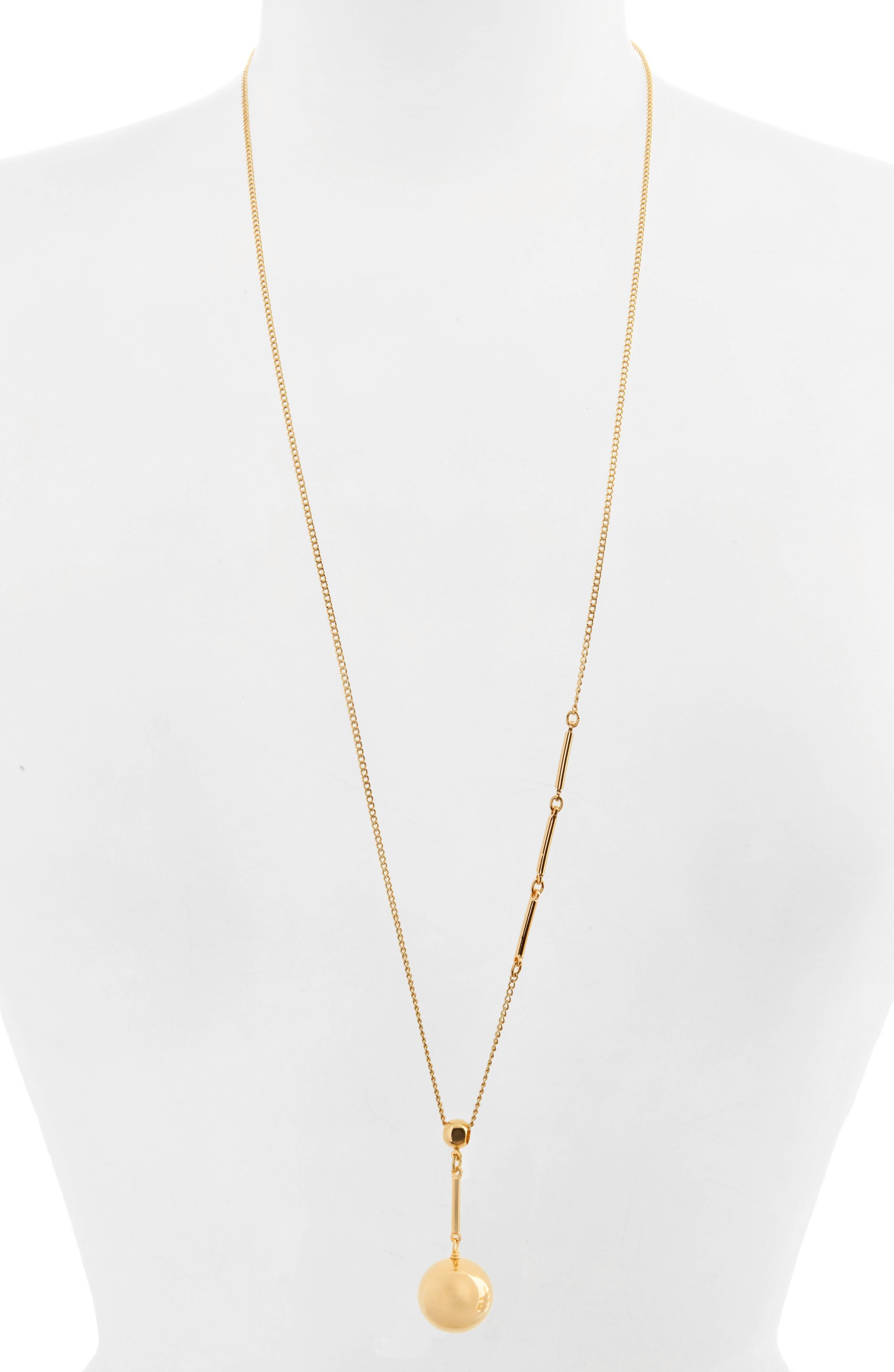 Tempo Pendant Necklace,                         Main,                         color, Gold