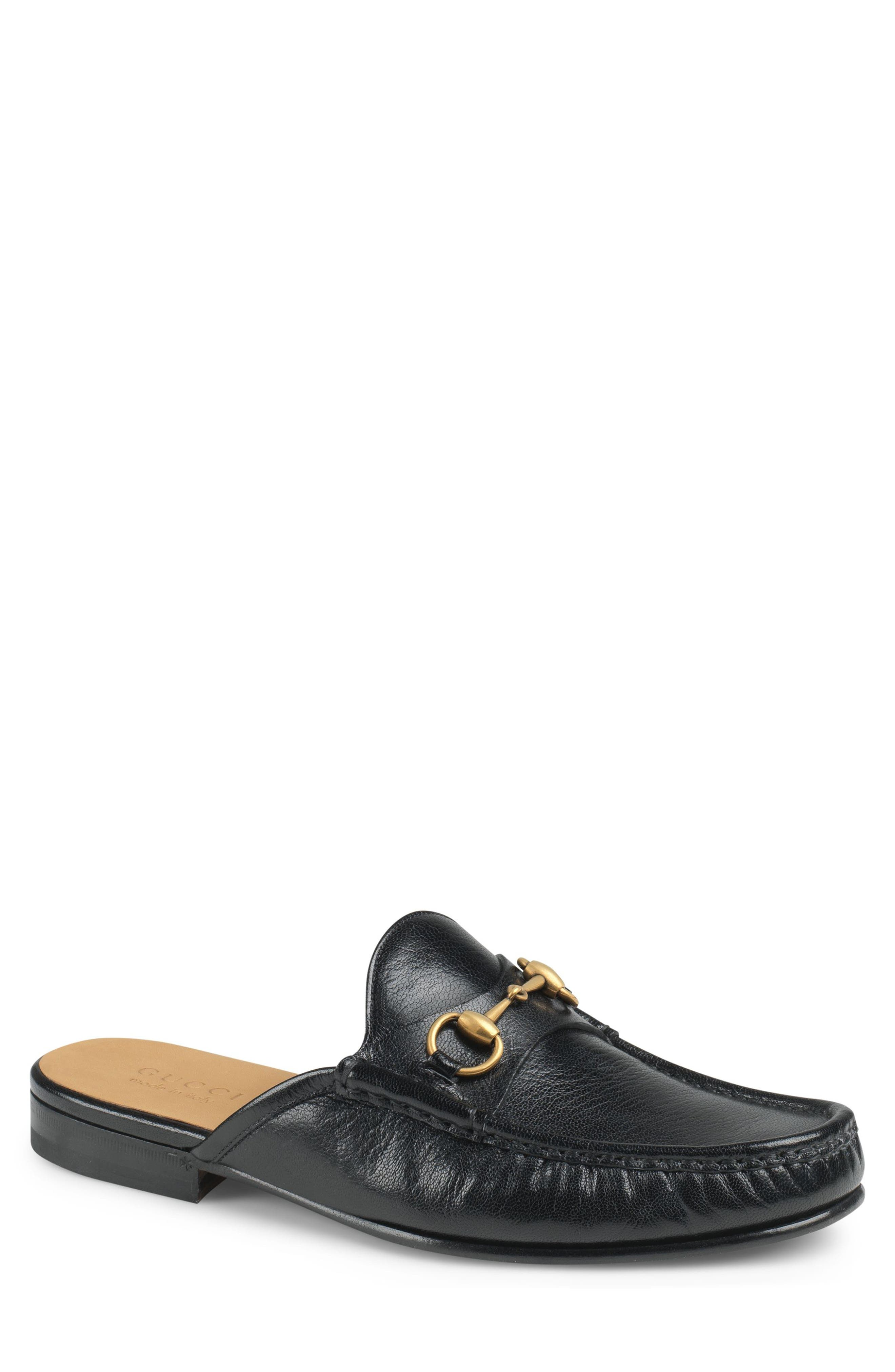 Gucci Open Roos Loafer Mule (Men)