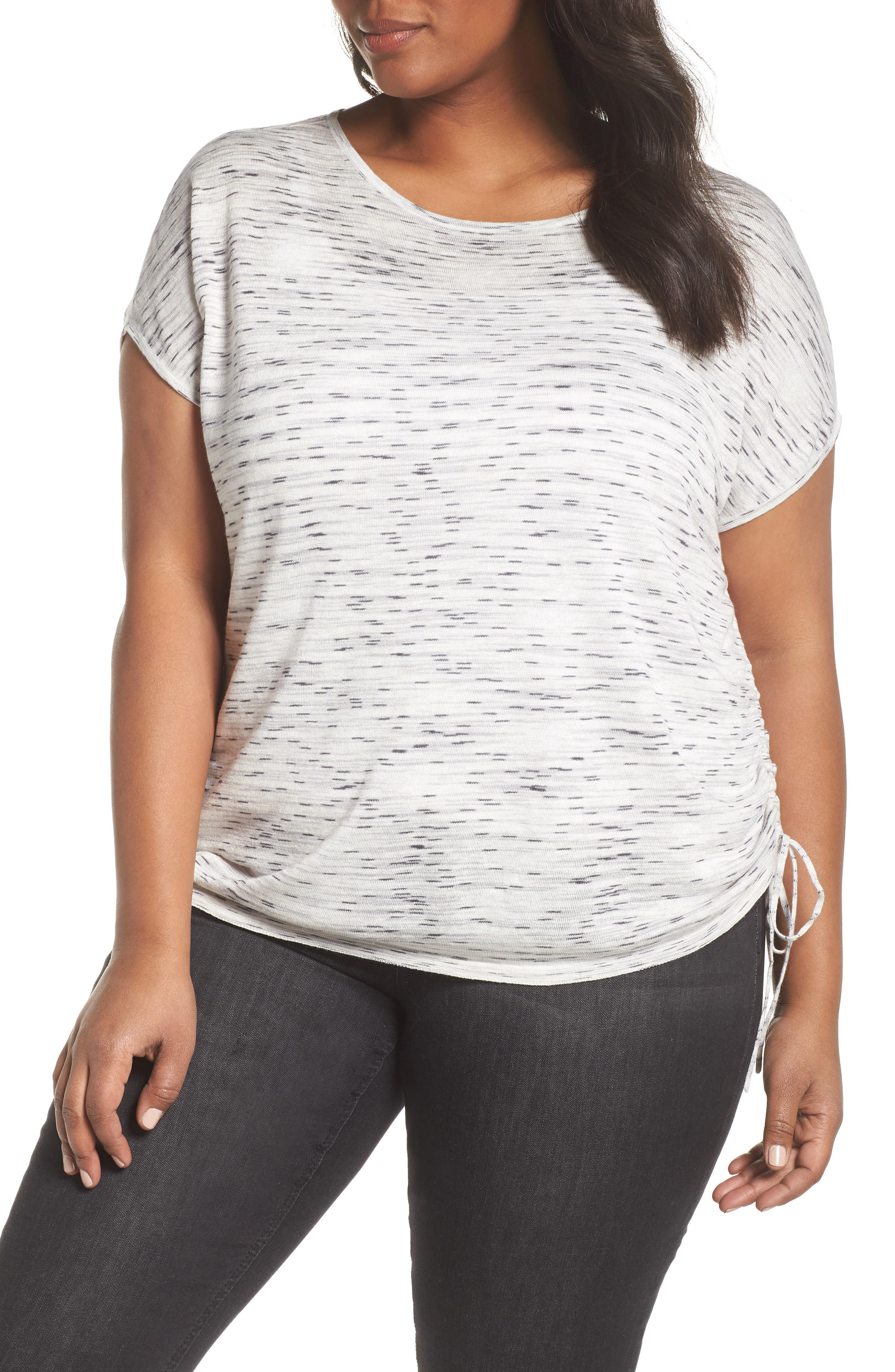 Refreshing Side Tie Top,                         Main,                         color, Zinc Mix