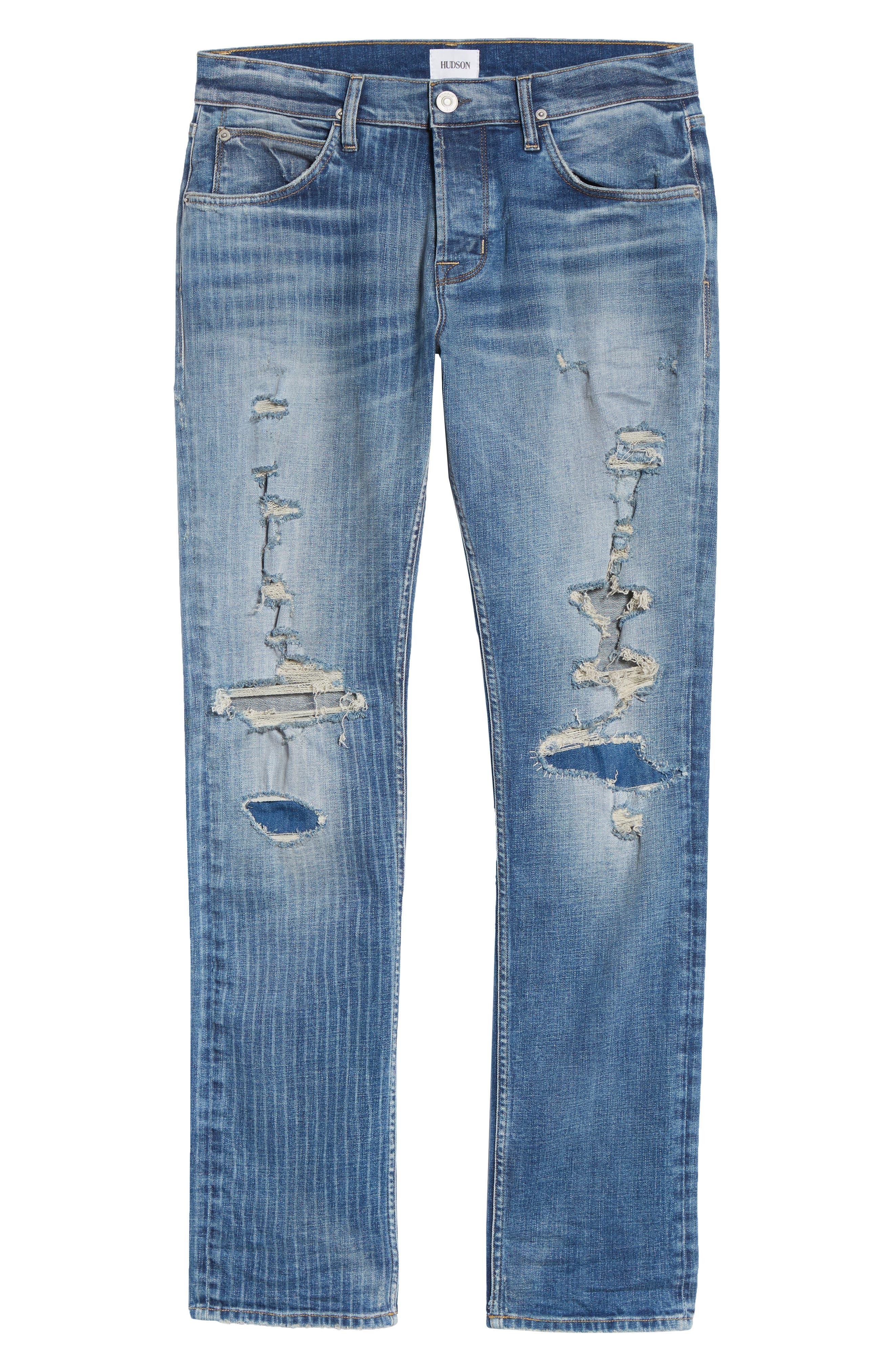 Blake Slim Fit Jeans,                             Alternate thumbnail 6, color,                             Eagle Rock