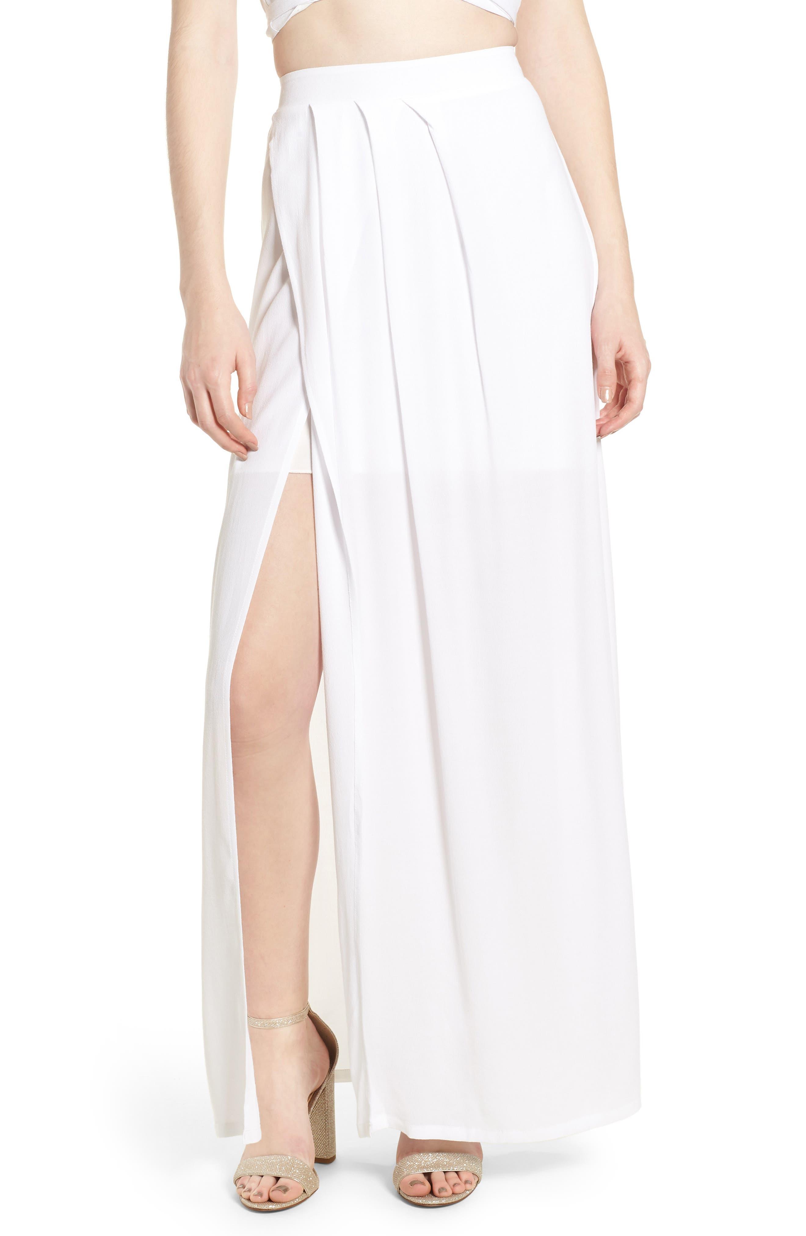 4SI3NNA Maxi Skirt
