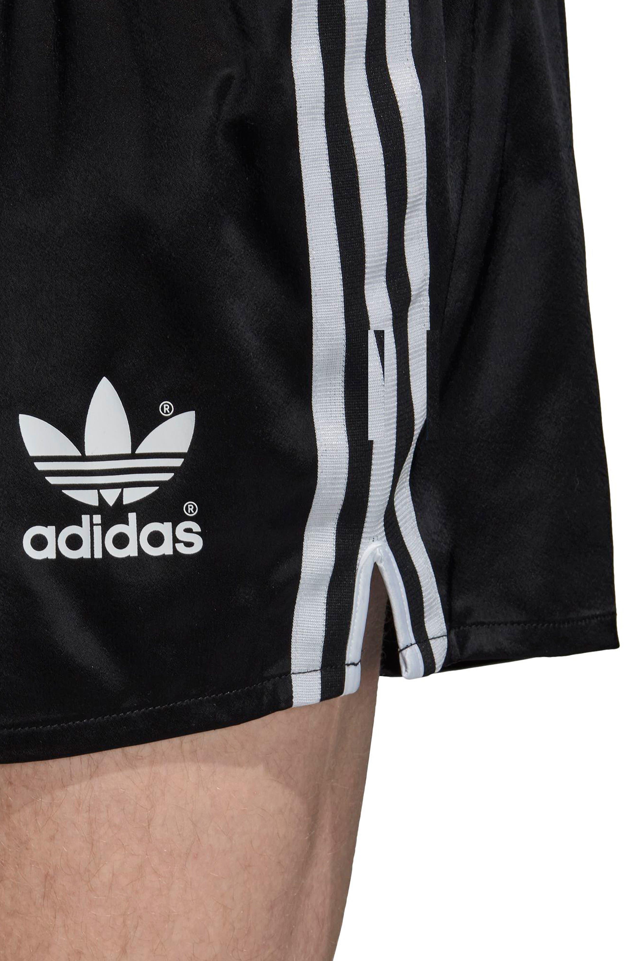 adidas Original Argentina 1987 Shorts,                             Alternate thumbnail 5, color,                             Black
