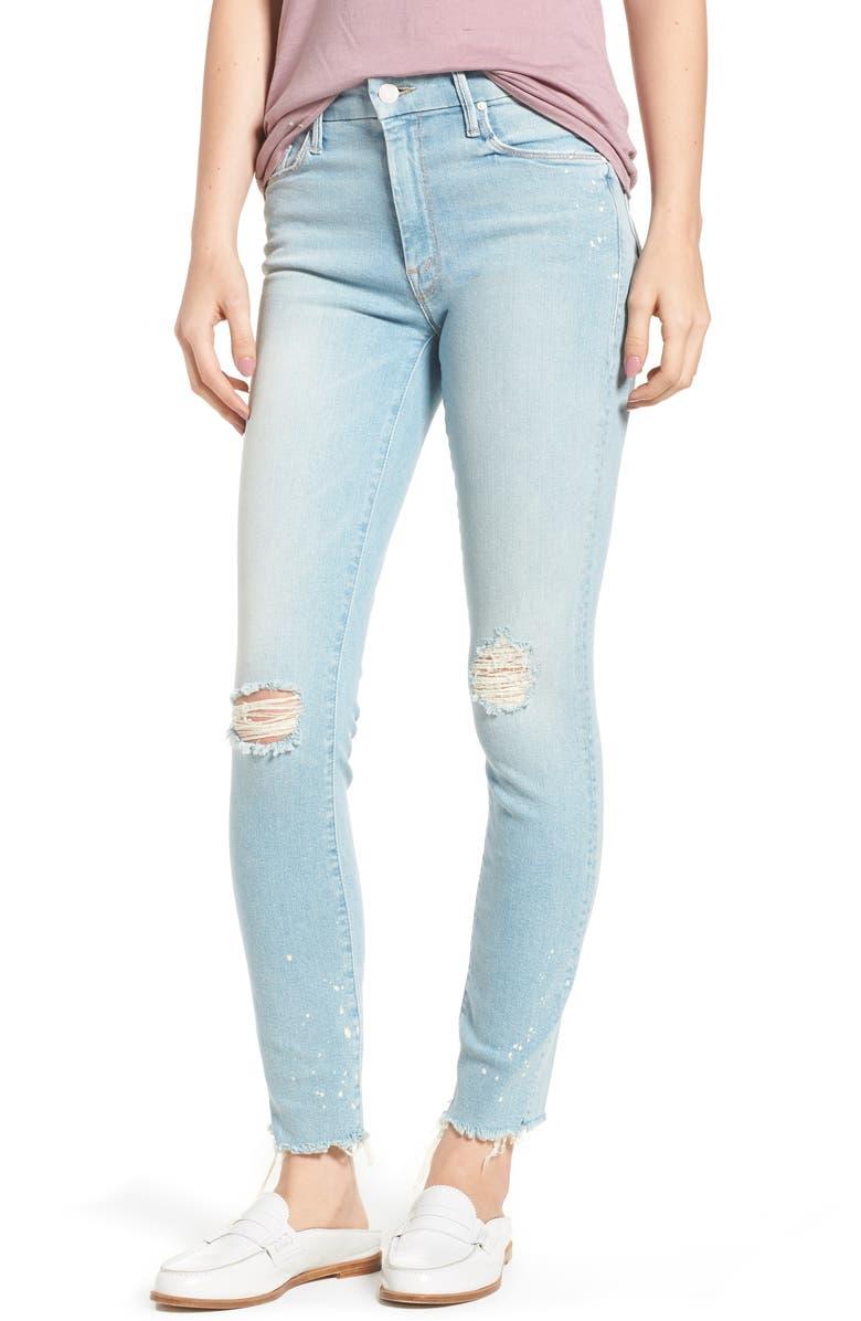 The Looker Sacred Slit Skinny Jeans
