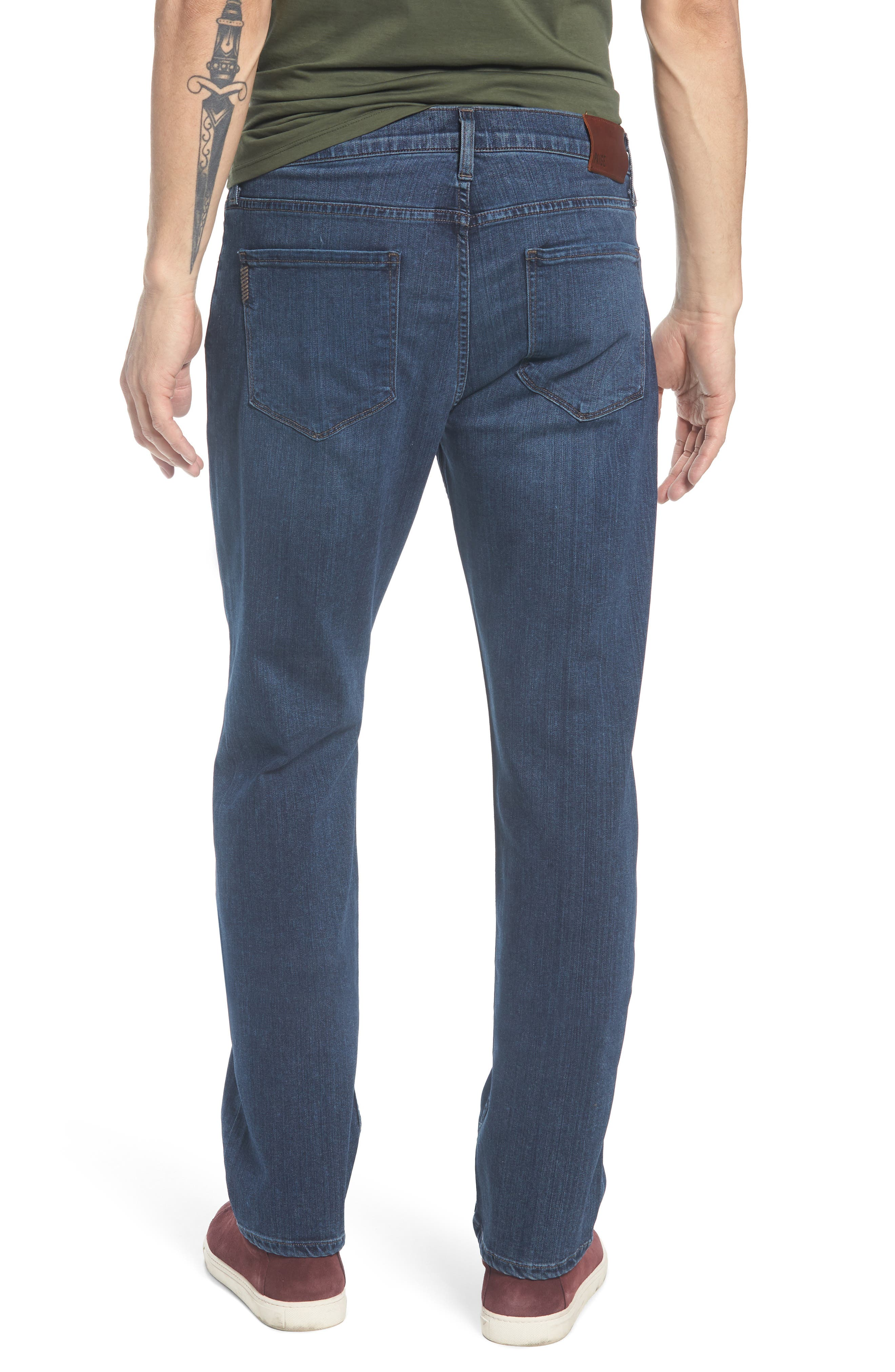 Normandie Straight Leg Jeans,                             Alternate thumbnail 2, color,                             Lowe