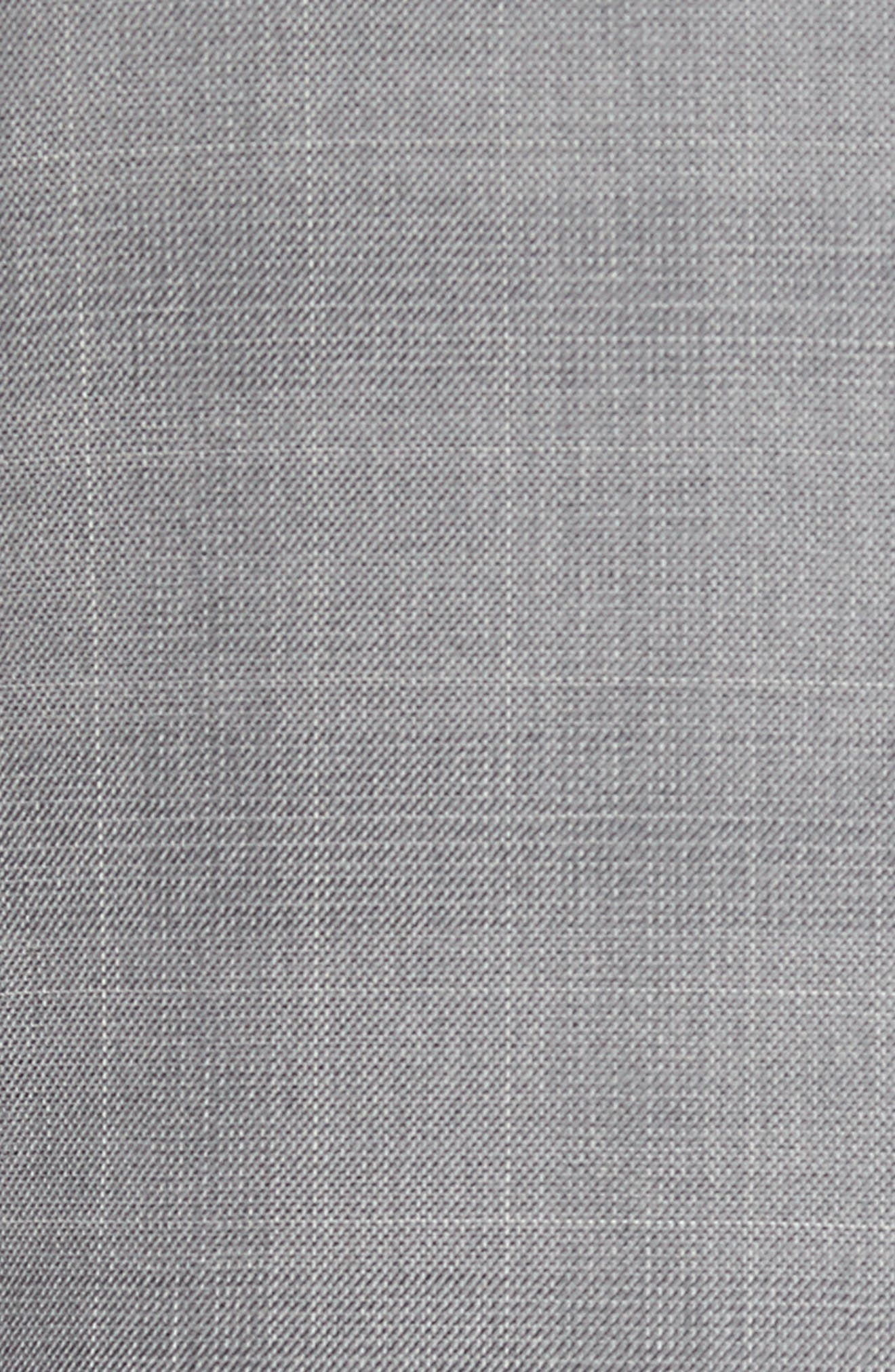Traditional Fit Windowpane Wool Sport Coat,                             Alternate thumbnail 3, color,                             Grey