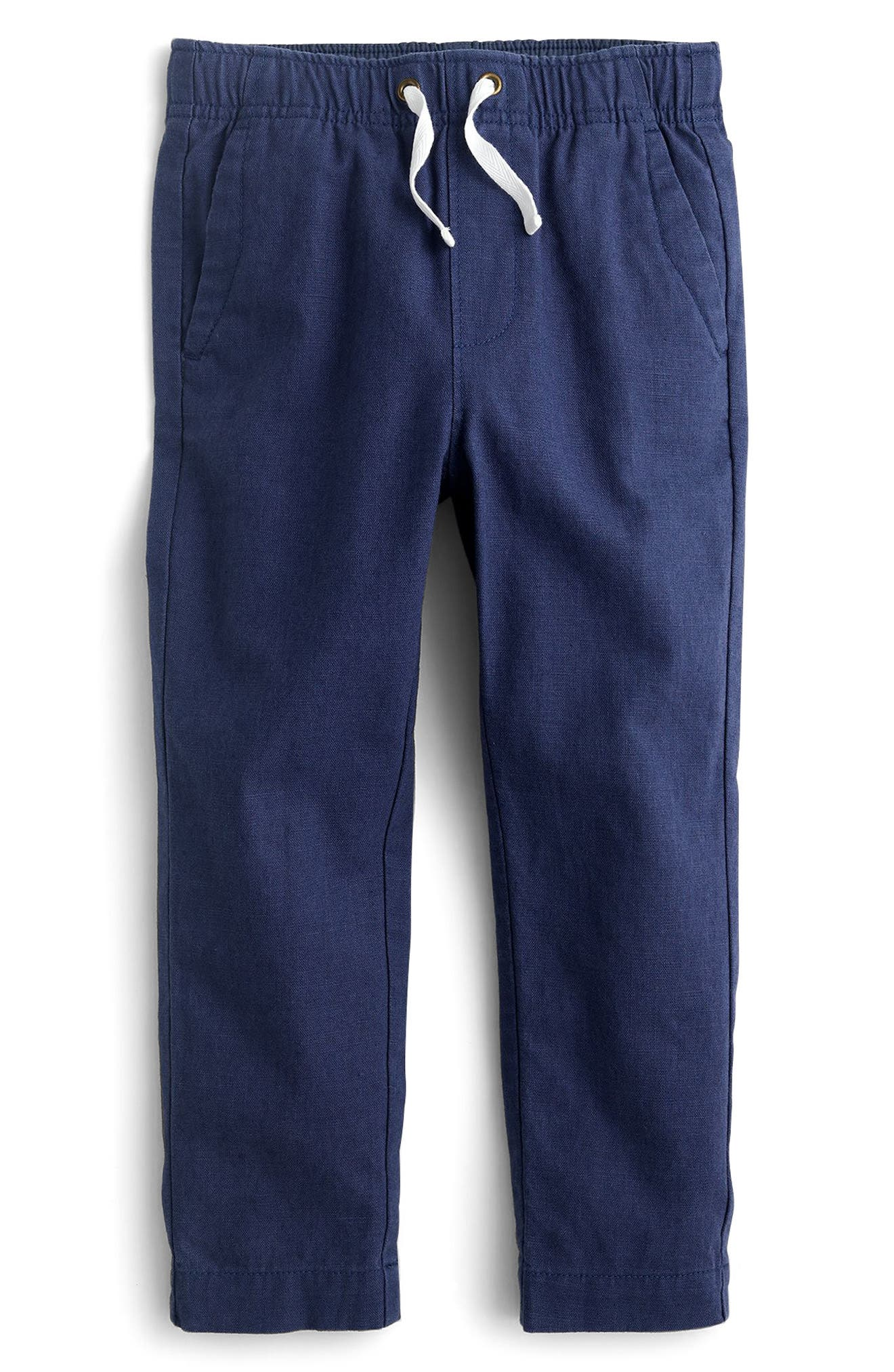 crewcuts by J.Crew Pull-On Linen & Cotton Pants (Toddler Boys, Little Boys & Big Boys)