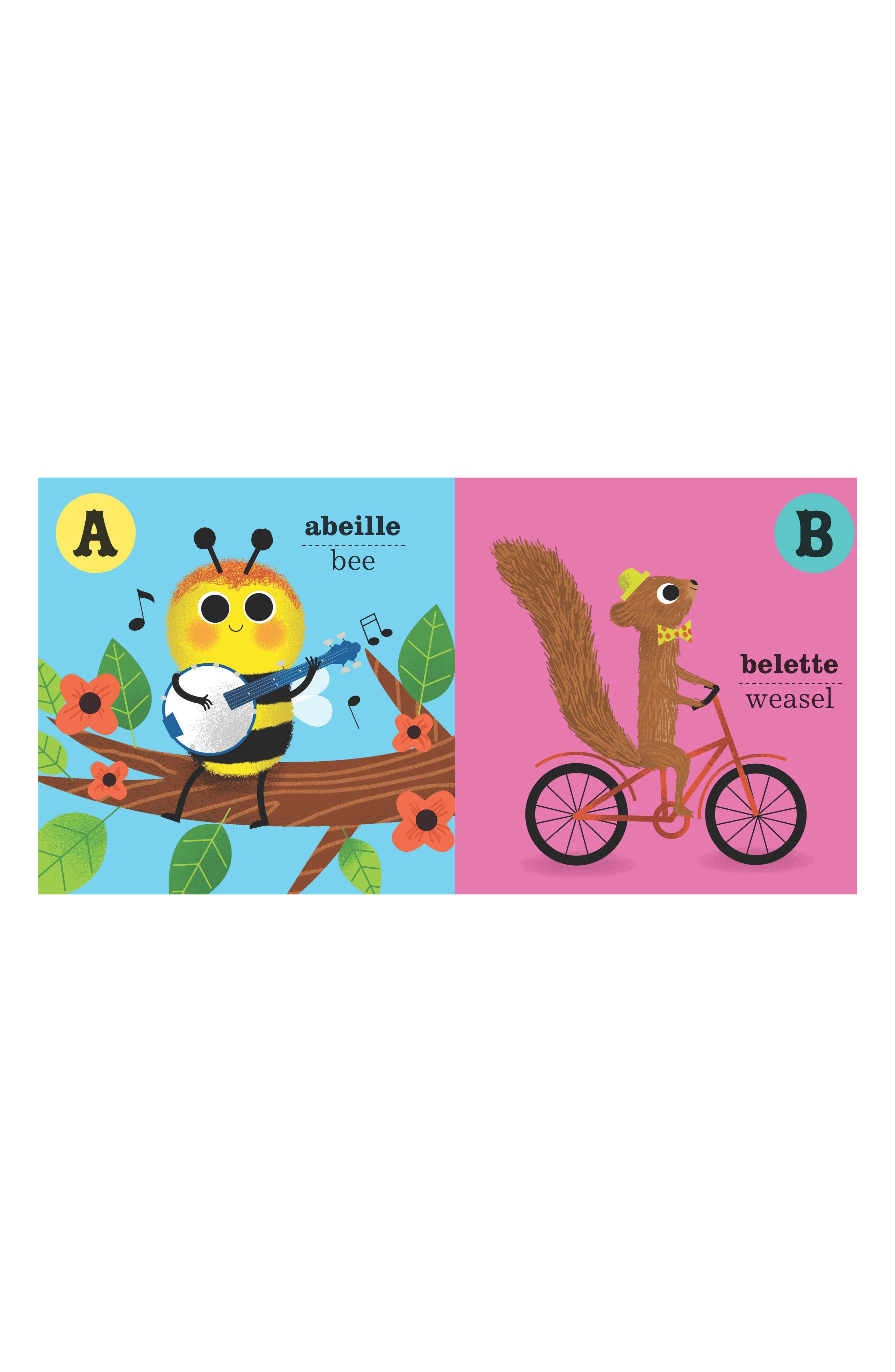 ABC French Book,                             Alternate thumbnail 3, color,                             Multi