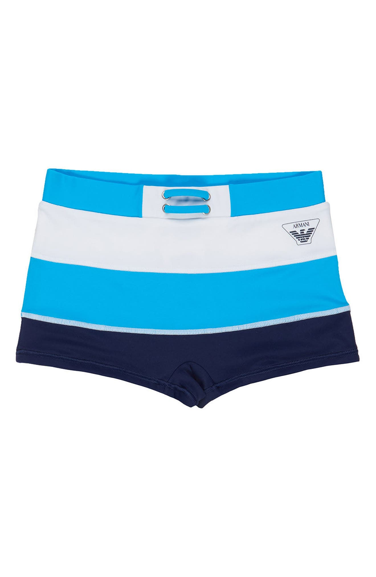 Armani Junior Logo Swimming Briefs (Little Boys & Big Boys)