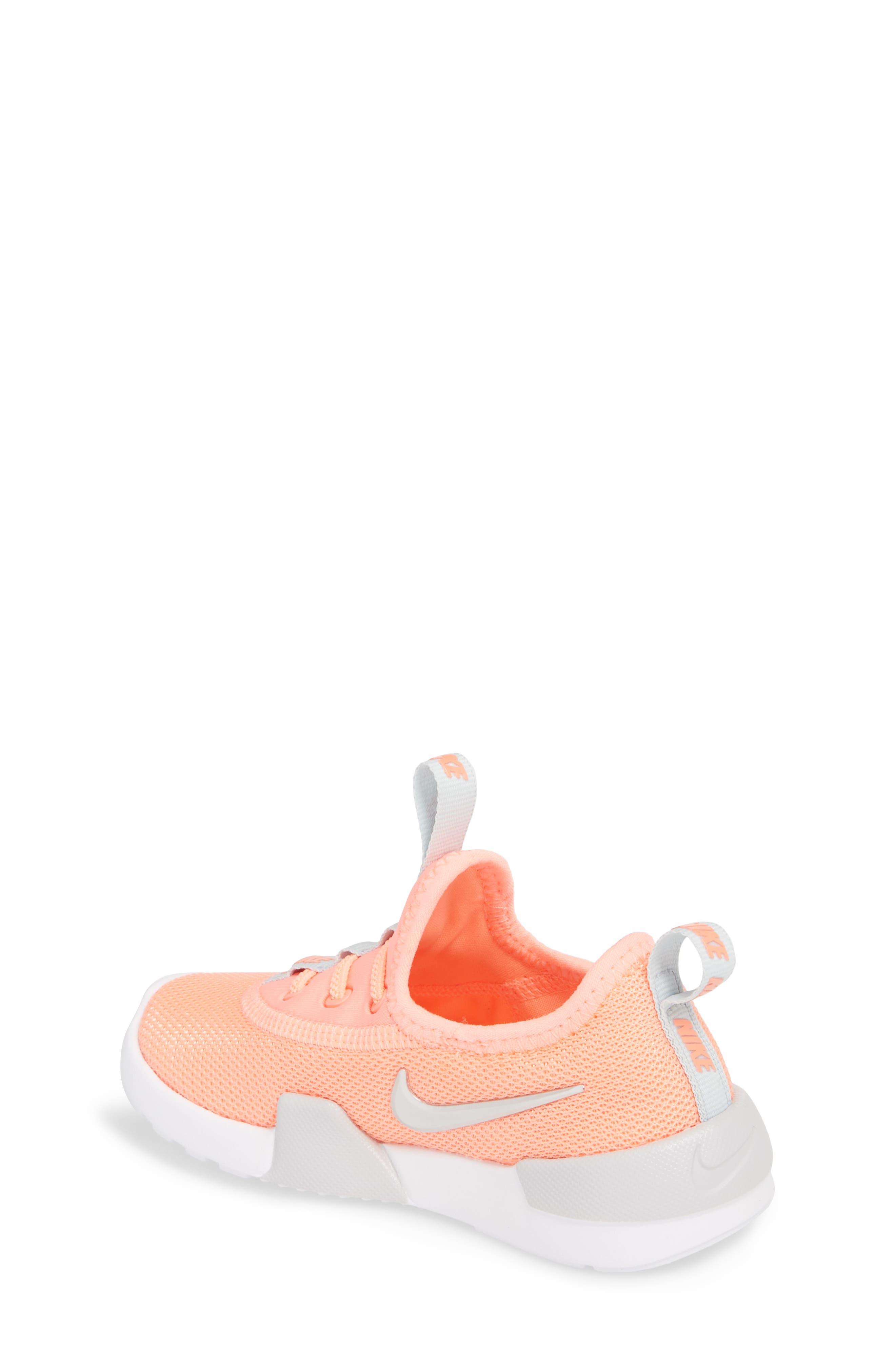 Ashin Modern Sock Knit Sneaker,                             Alternate thumbnail 2, color,                             Atomic Pink/ Metallic Silver