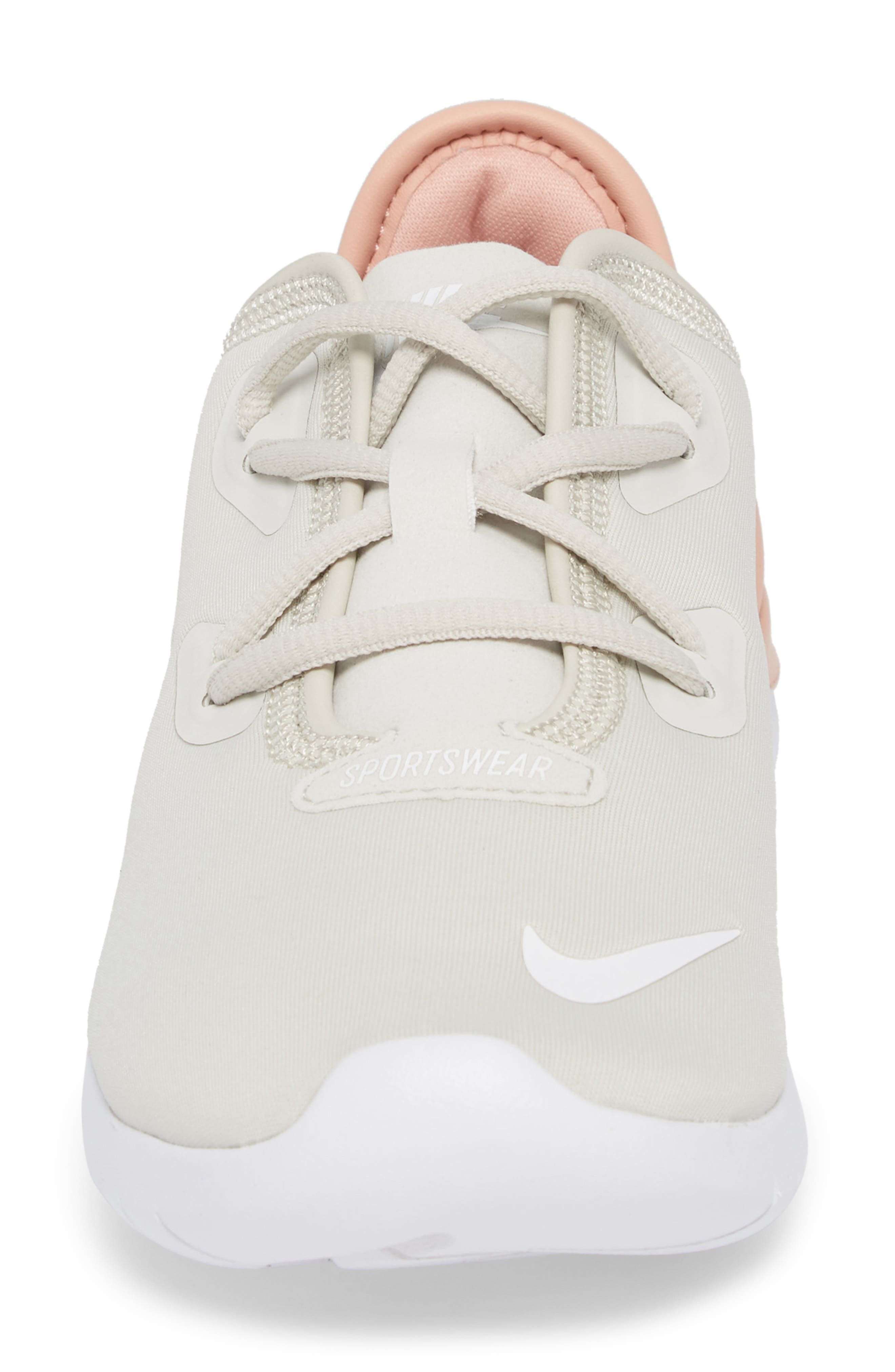 Hakata Sneaker,                             Alternate thumbnail 4, color,                             Light Bone/ White/ Coral