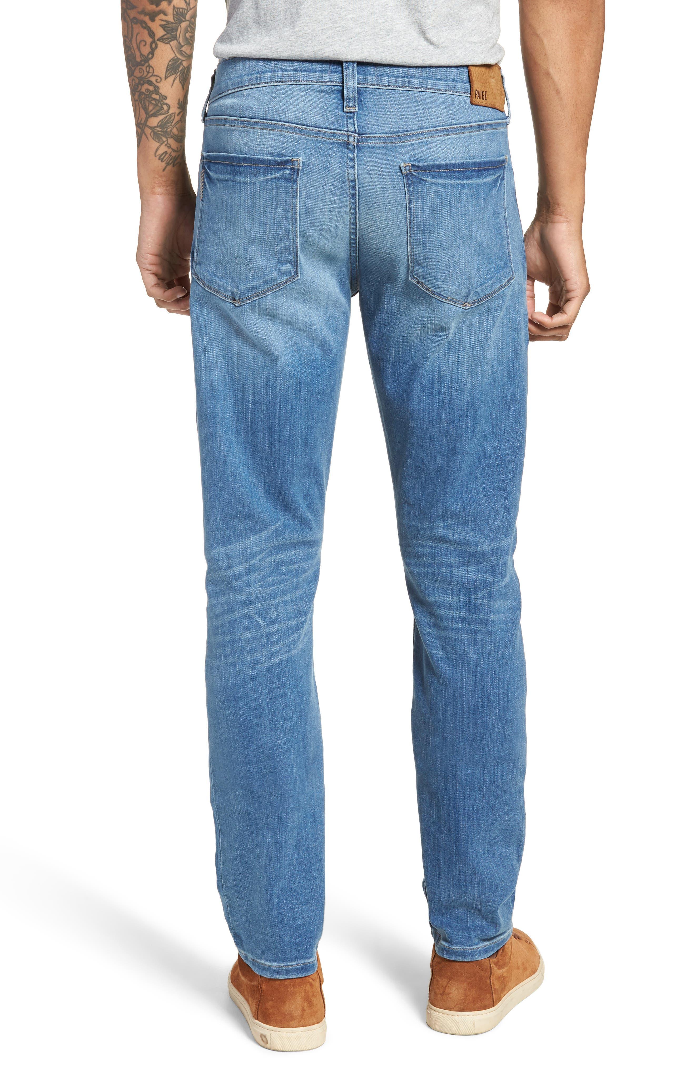 Transcend - Federal Slim Straight Leg Jeans,                             Alternate thumbnail 2, color,                             Hammonds