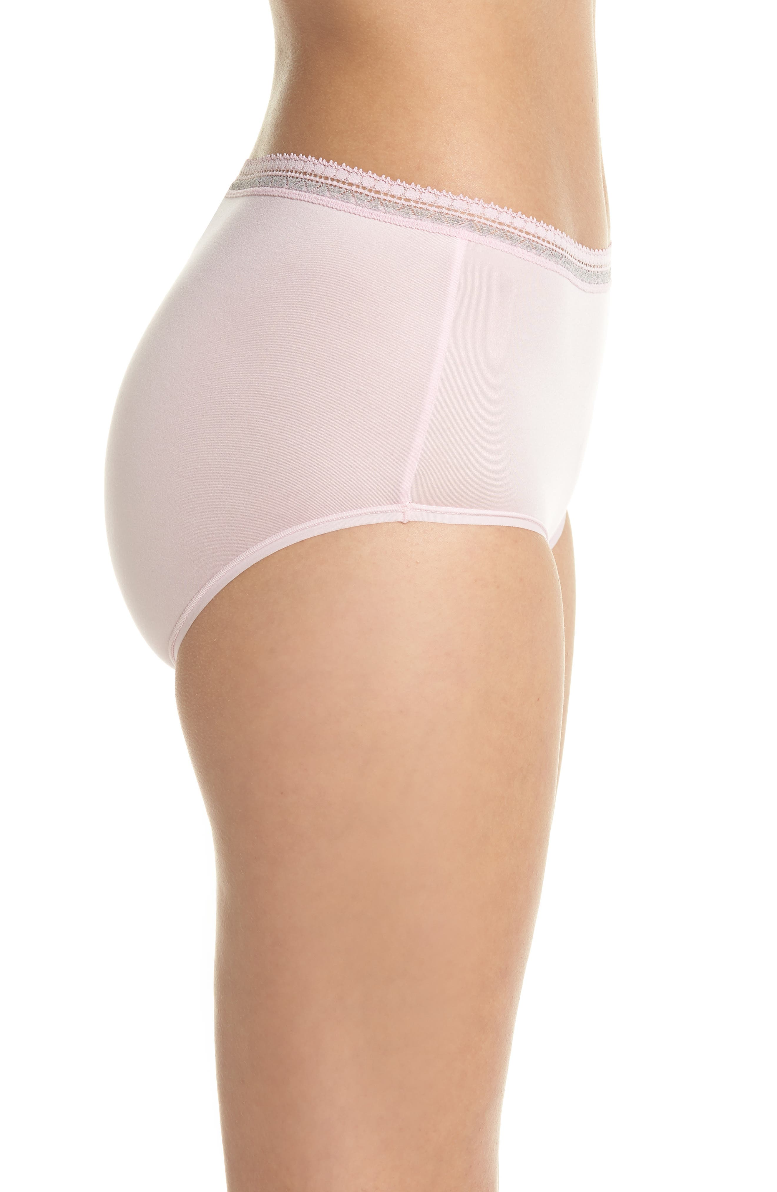 Perfect Primer Briefs,                             Alternate thumbnail 3, color,                             Pink Lady