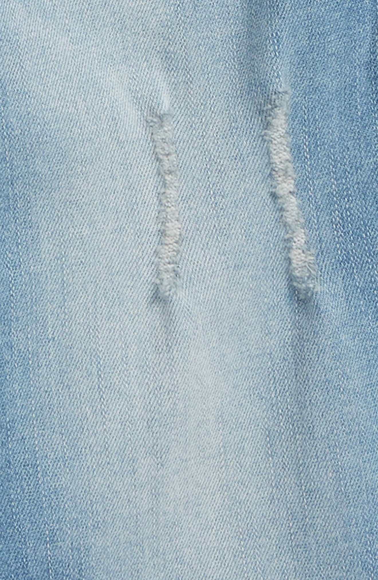 Wide Cuff Jeans,                             Alternate thumbnail 2, color,                             Echo Wash