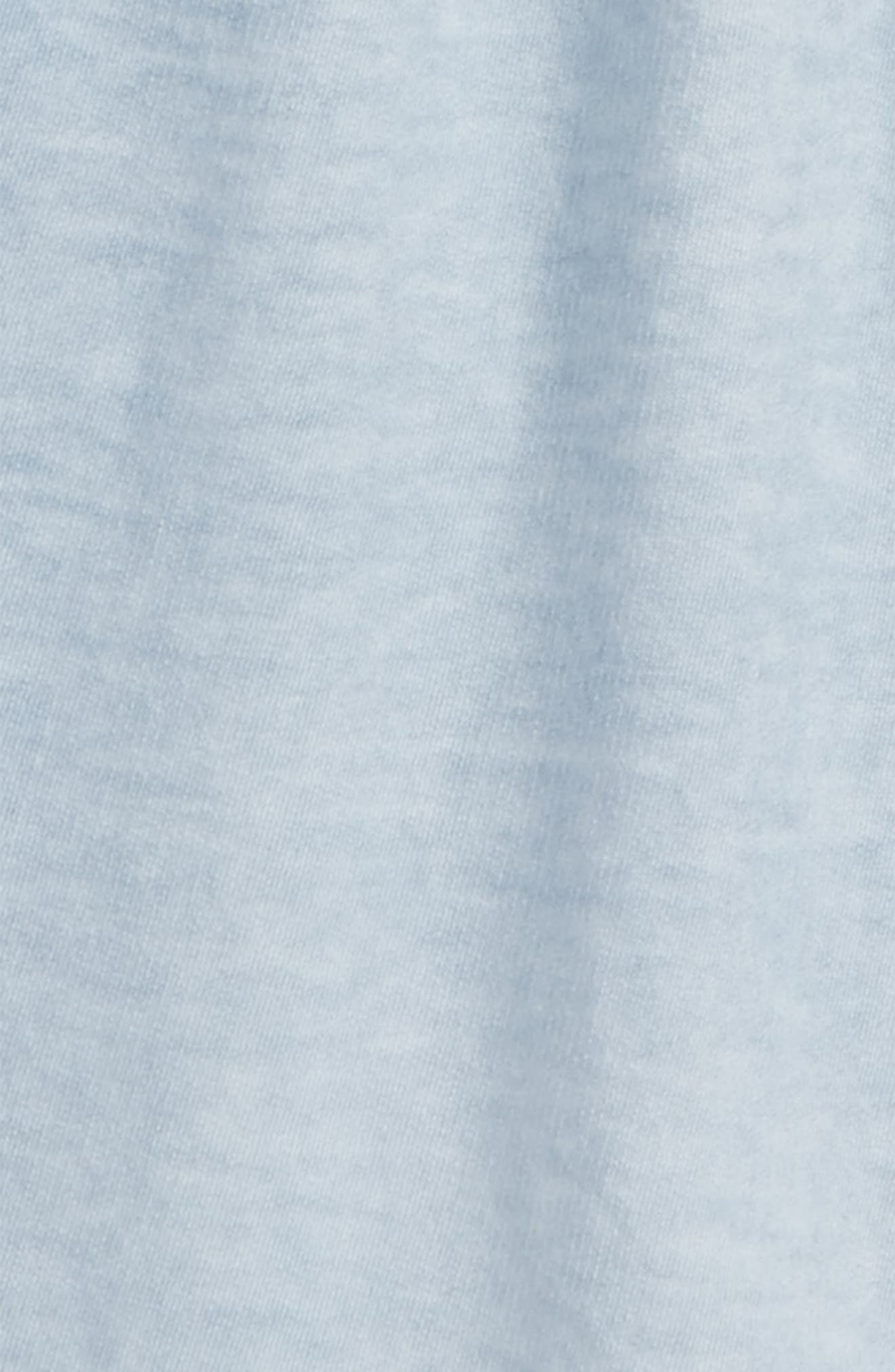 Cotton Shorts,                             Alternate thumbnail 2, color,                             Blue Fog Wash