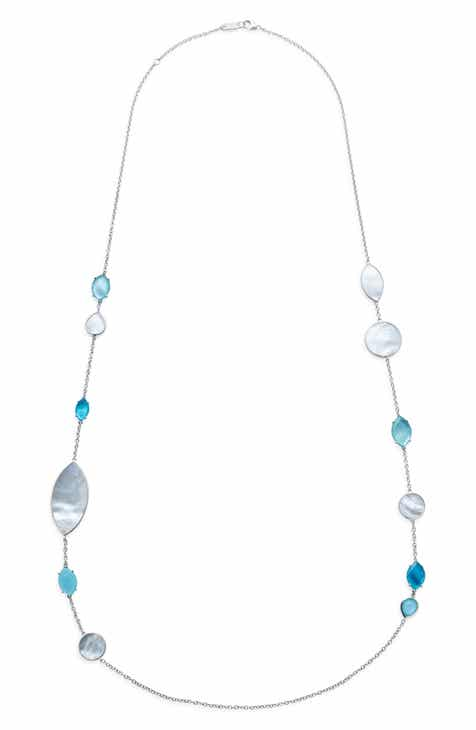 b35668a1435822 Ippolita Wonderland Long Marquise Stone Necklace