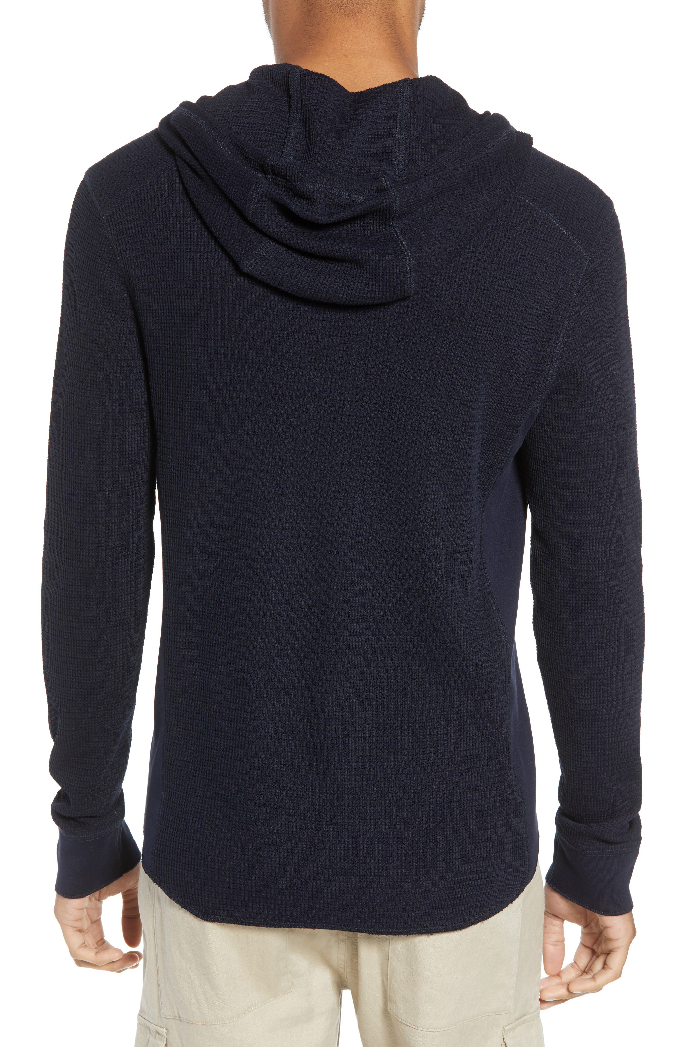 Regular Fit Thermal Knit Pullover Hoodie,                             Alternate thumbnail 2, color,                             New Coastal