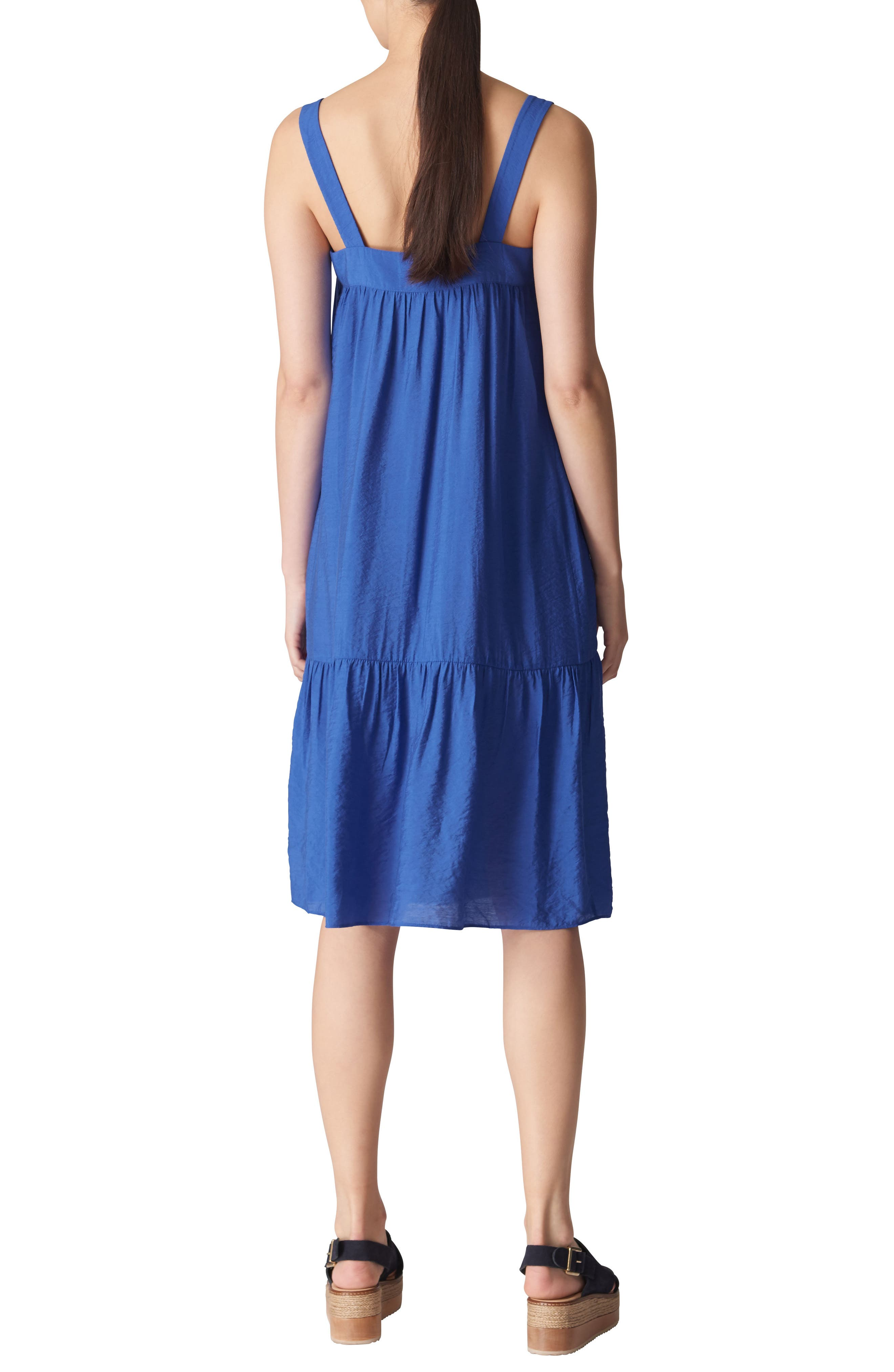 Florencia Sun Dress,                             Alternate thumbnail 2, color,                             Blue