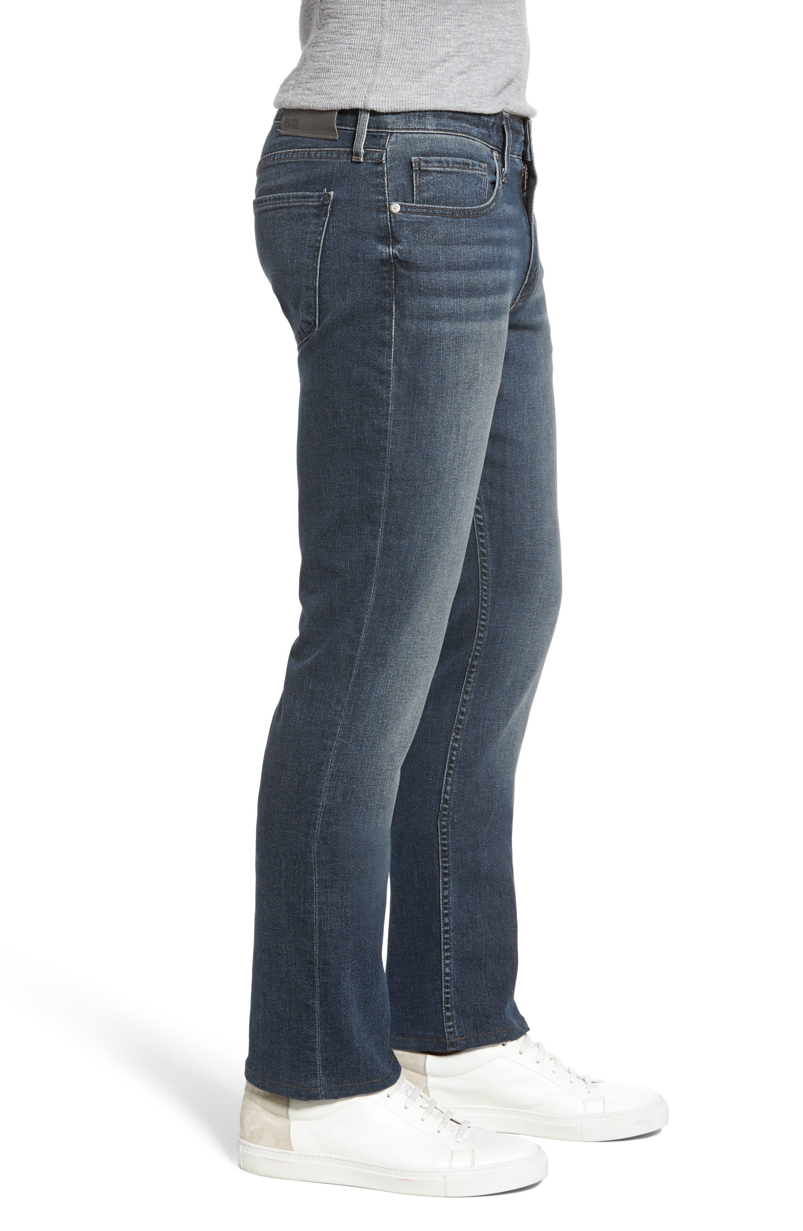 Normandie Straight Leg Jeans,                             Alternate thumbnail 3, color,                             Daniels