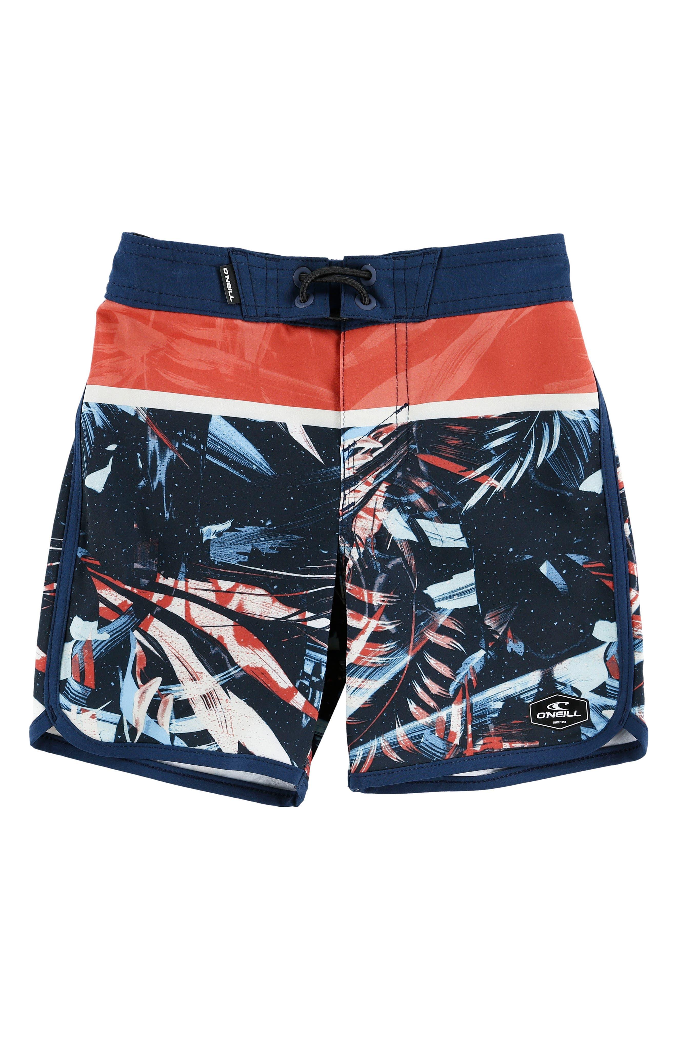 Hyperfreak Ruins Board Shorts,                         Main,                         color, Navy