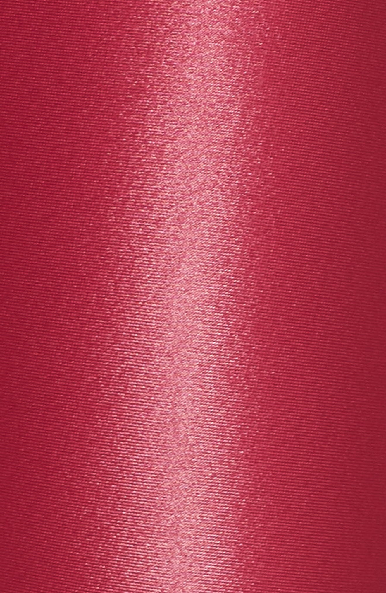 Surrey Lustrous Two Tone Leggings,                             Alternate thumbnail 7, color,                             Azalea/ Black