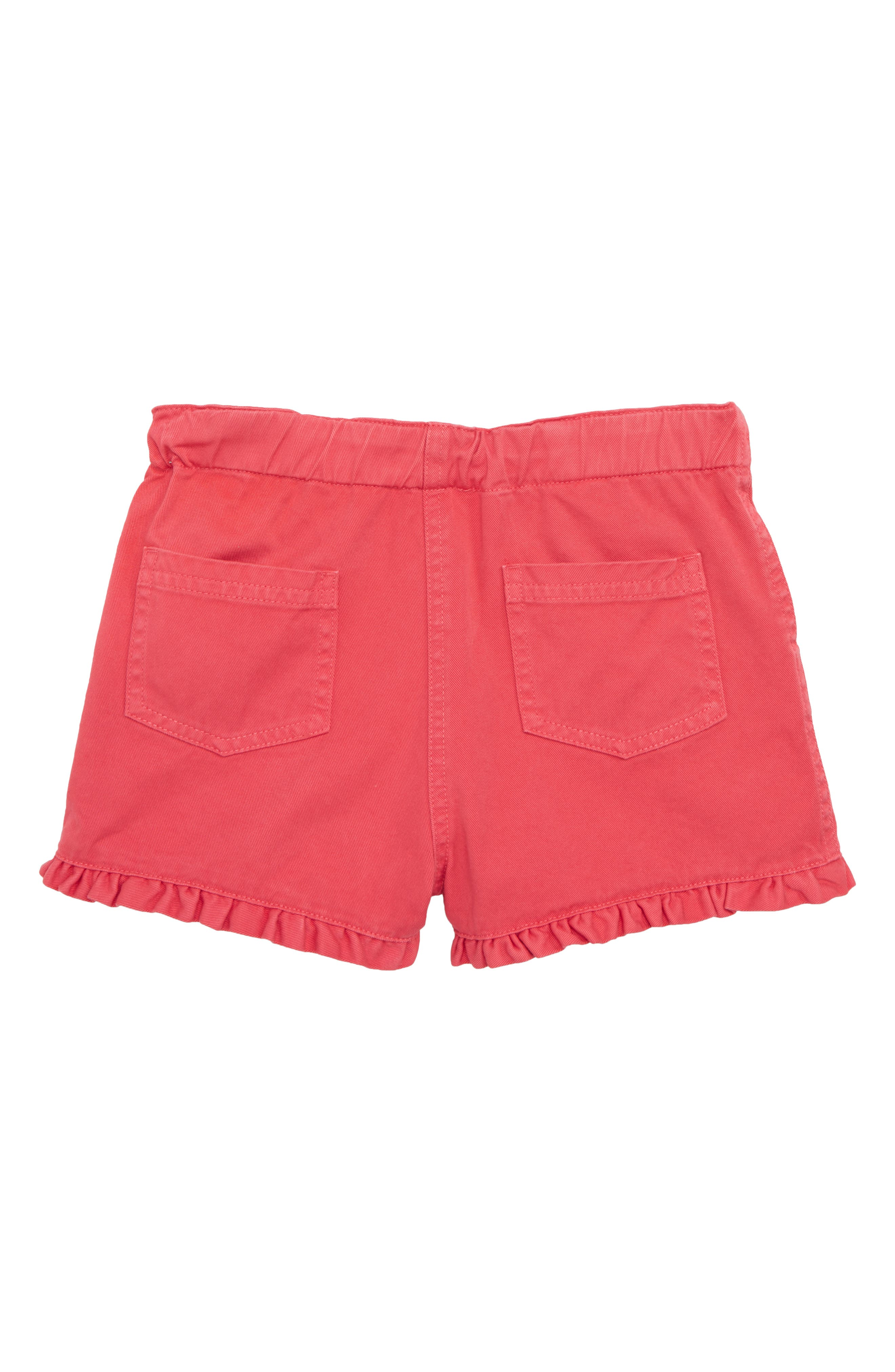 Frill Detail Shorts,                             Alternate thumbnail 2, color,                             Strawberry Split Pin