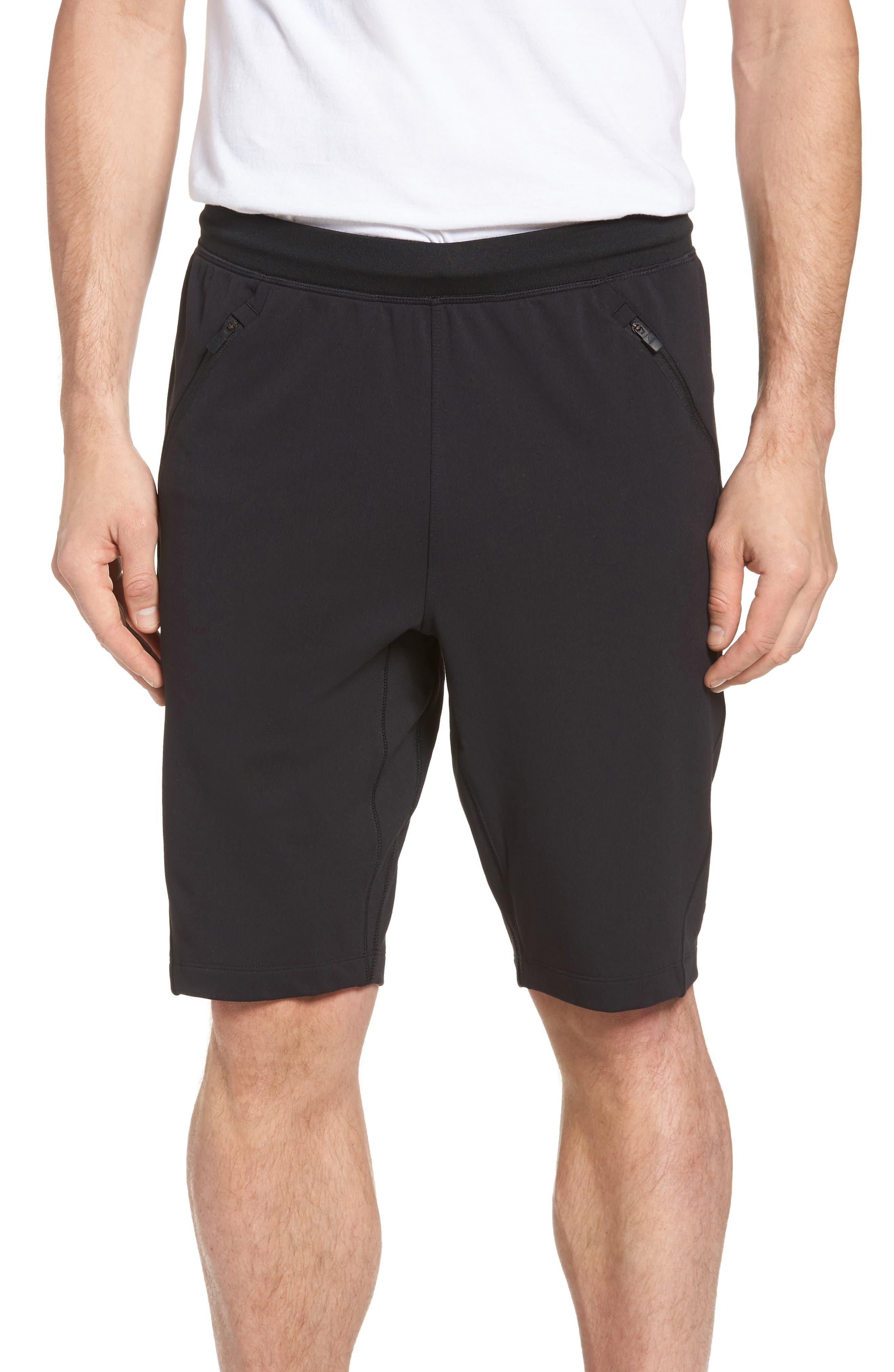 Ultimate Transitional Regular Fit Shorts,                             Main thumbnail 1, color,                             Black