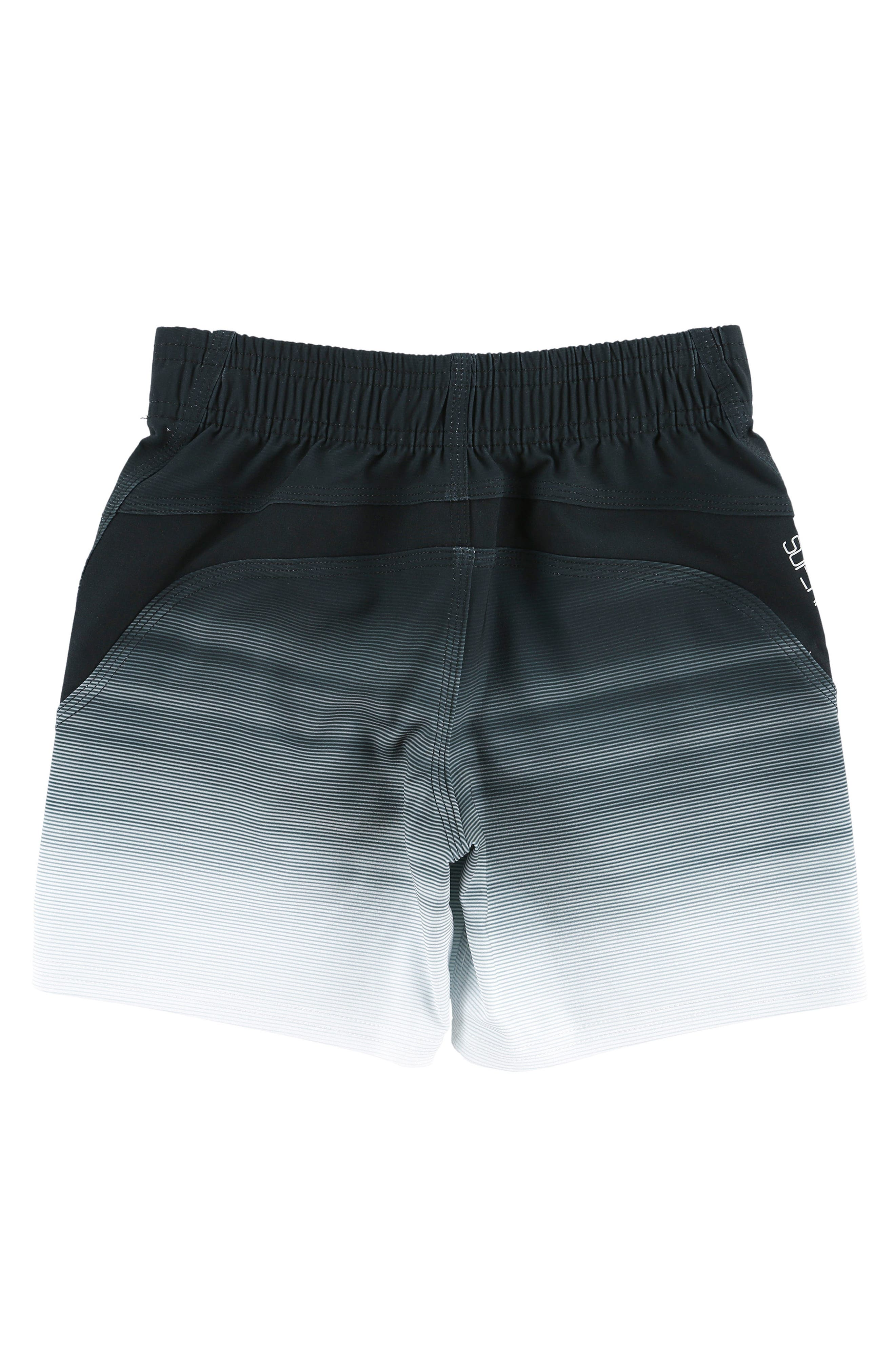 Sneakyfreak Mysto Board Shorts,                             Alternate thumbnail 2, color,                             Black