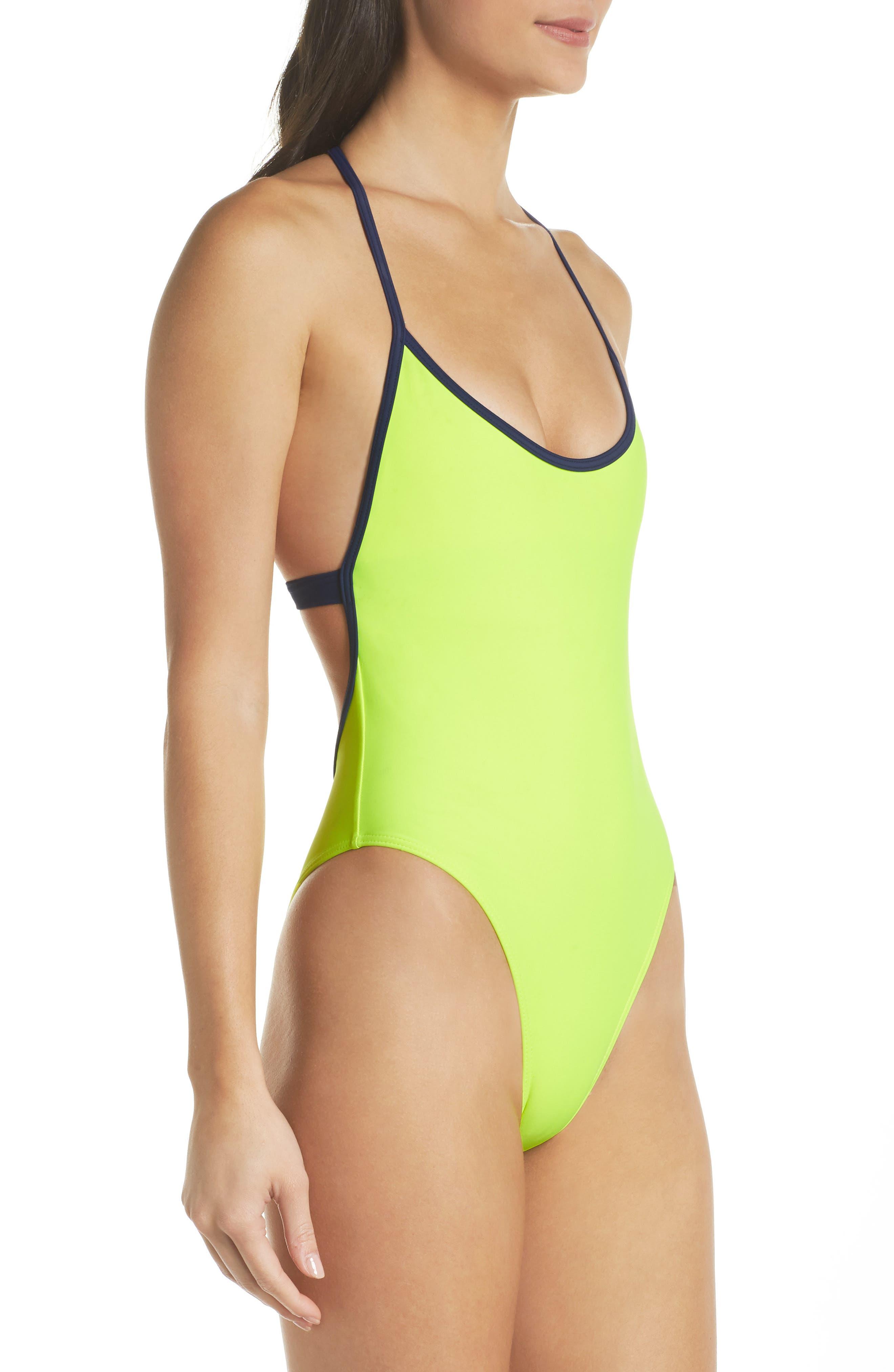 Alternate Image 3  - Chromat T-Suit One-Piece Swimsuit