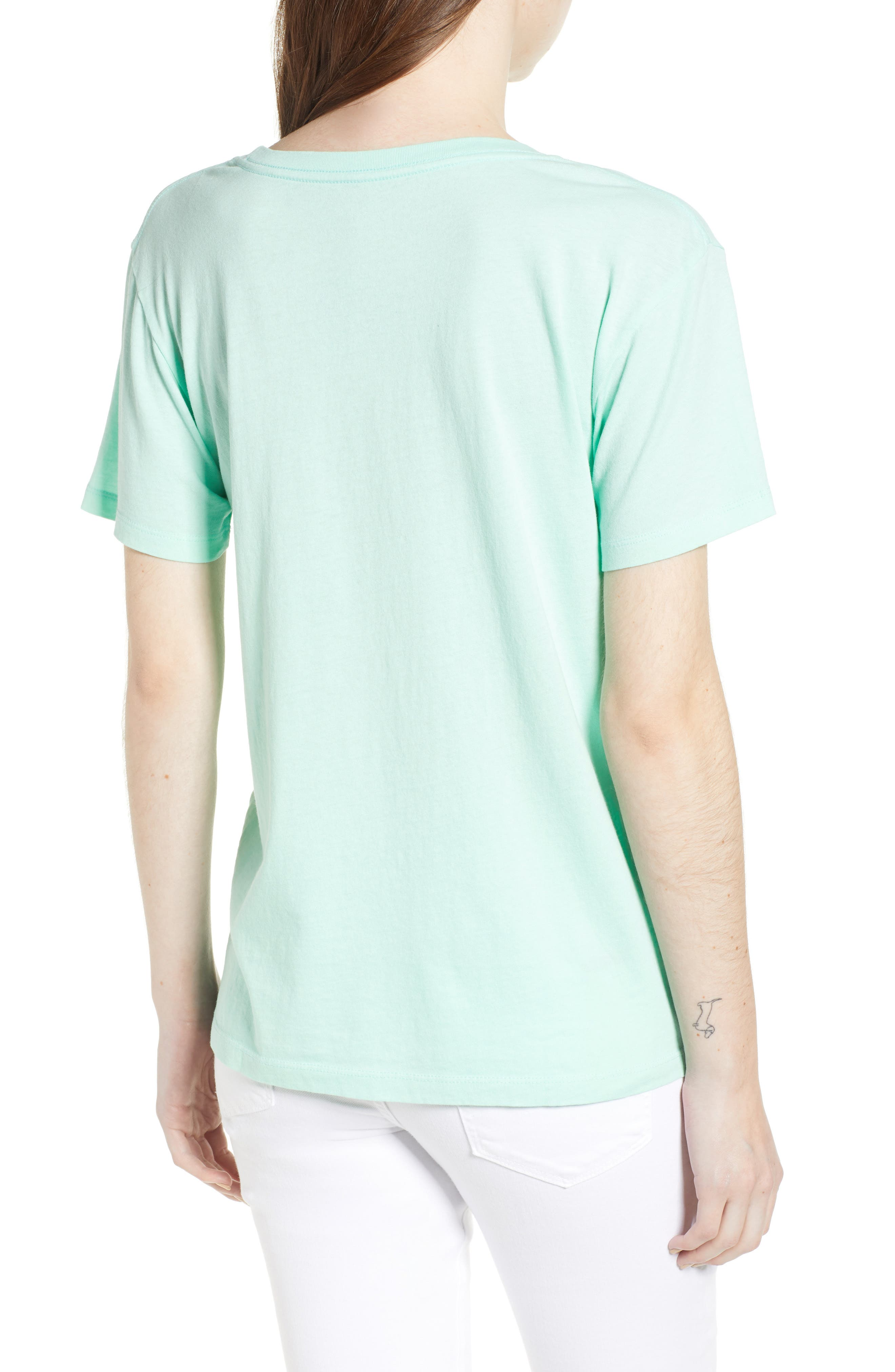 Texas Tee,                             Alternate thumbnail 2, color,                             Washed Mint