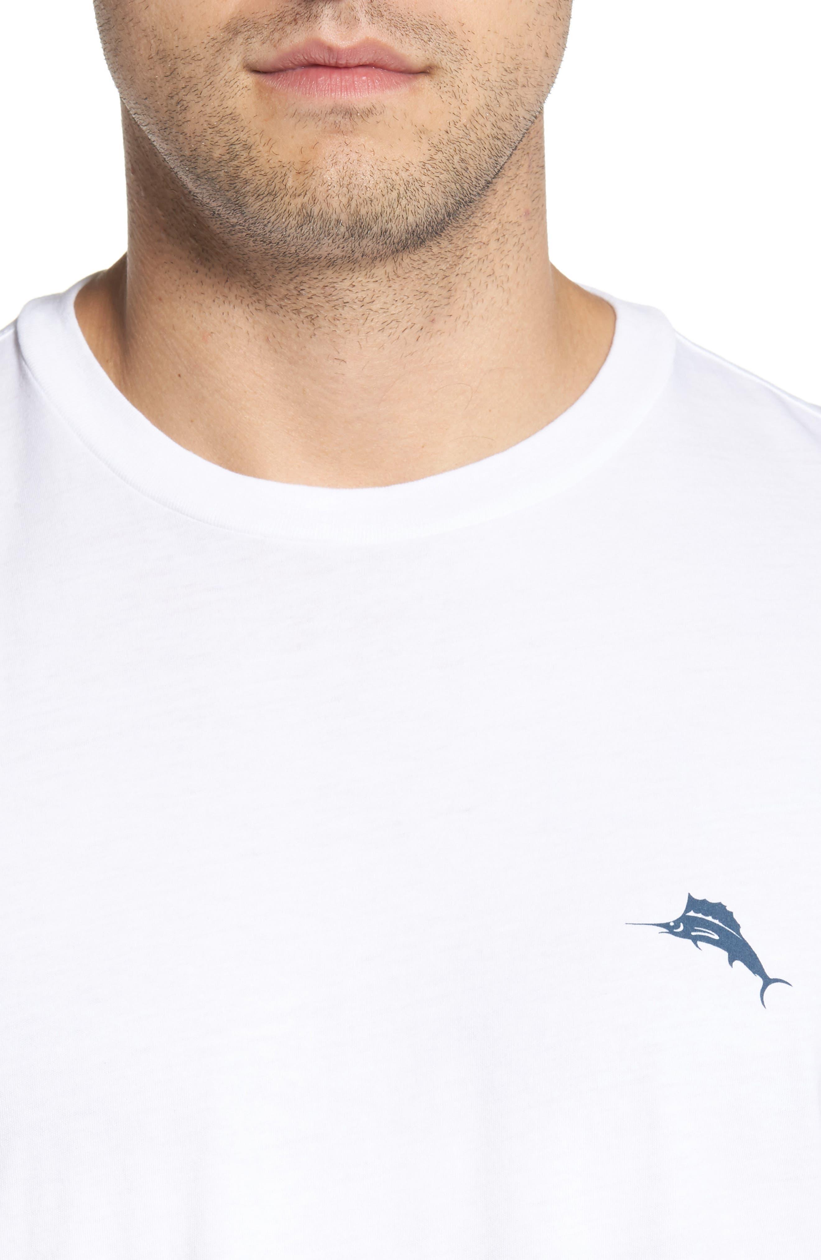 Diamond Cove T-Shirt,                             Alternate thumbnail 4, color,                             White