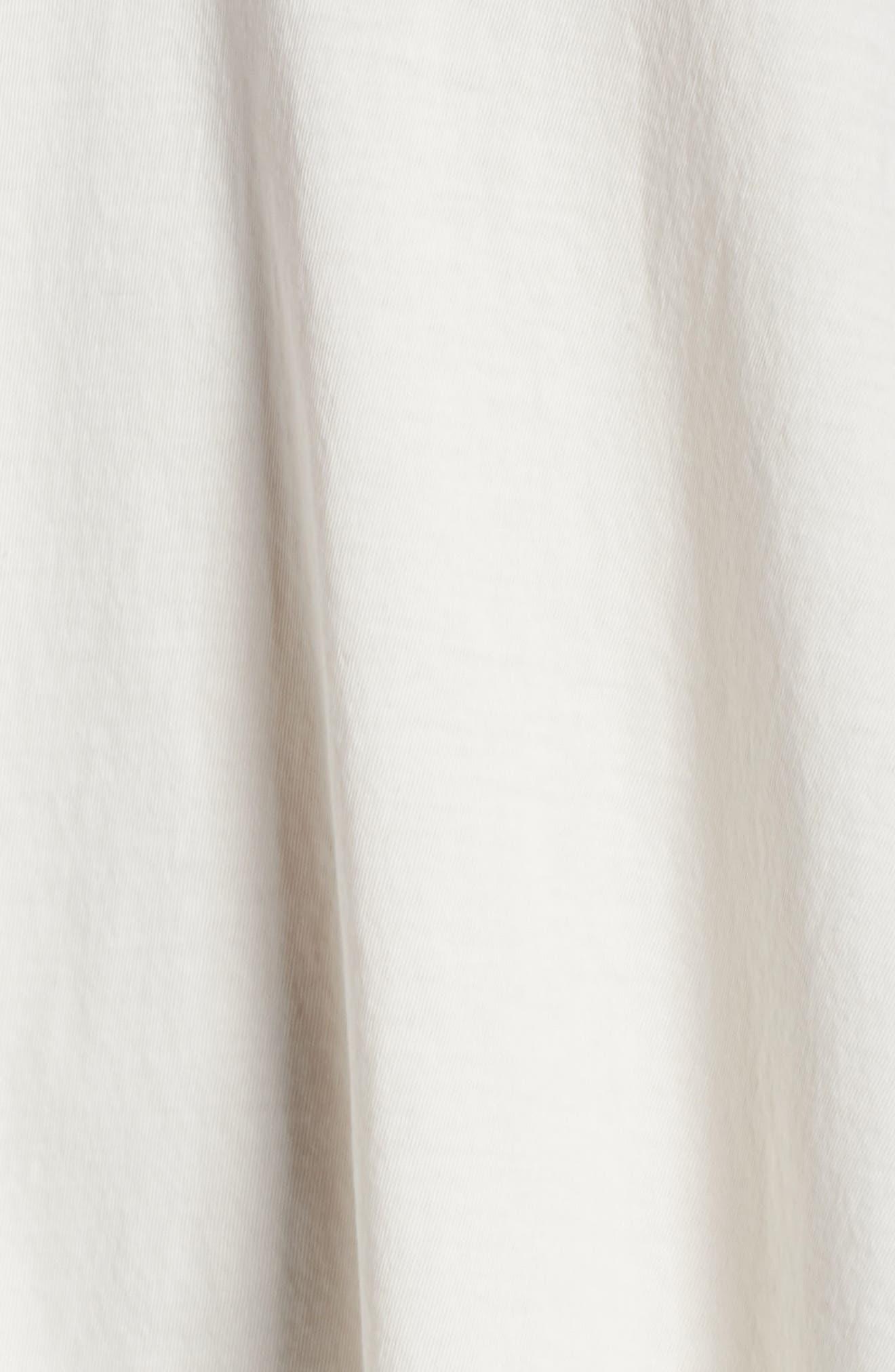Bettina Pima Cotton Voile Nightgown,                             Alternate thumbnail 5, color,                             Gardenia